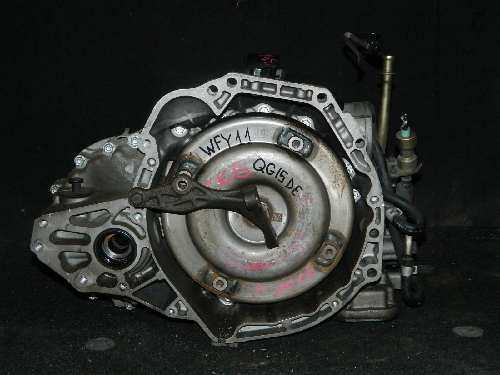 Акпп Nissan Wingroad WFY11 QG15DE (б/у)