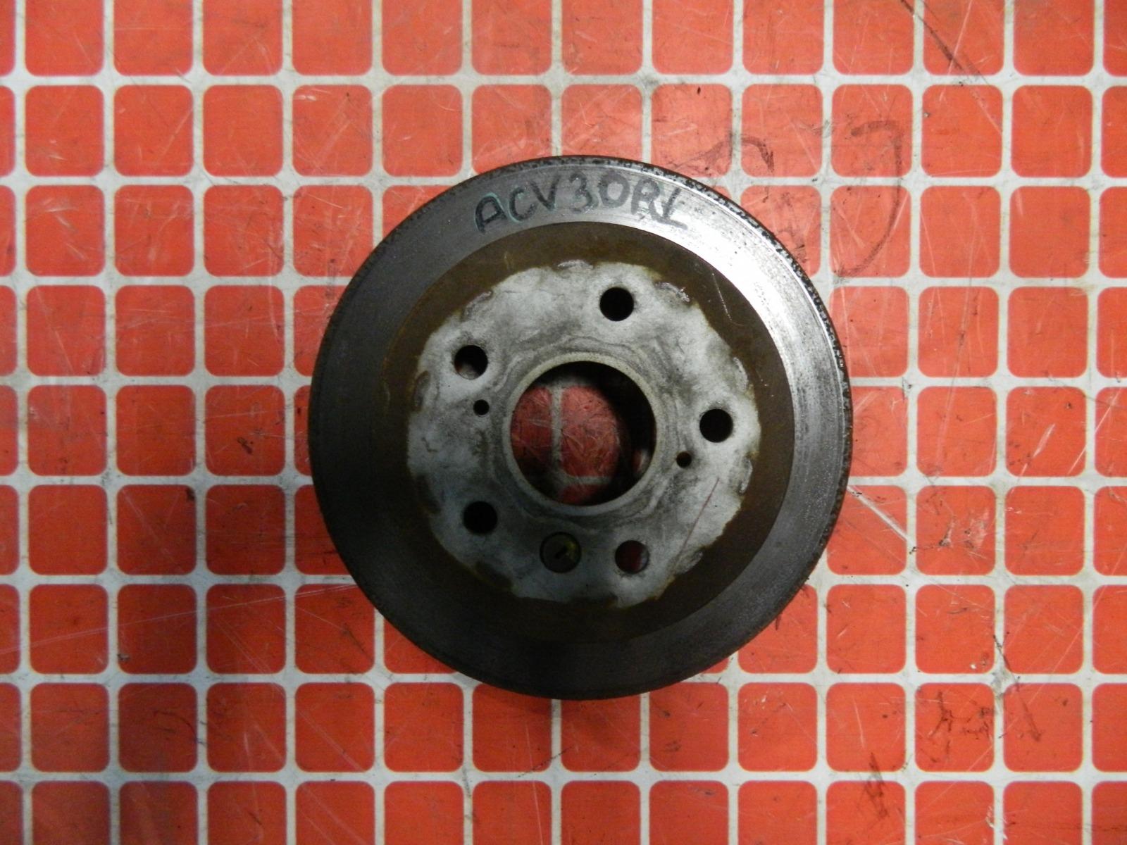 Тормозной диск Toyota Camry ACV30 задний (б/у)