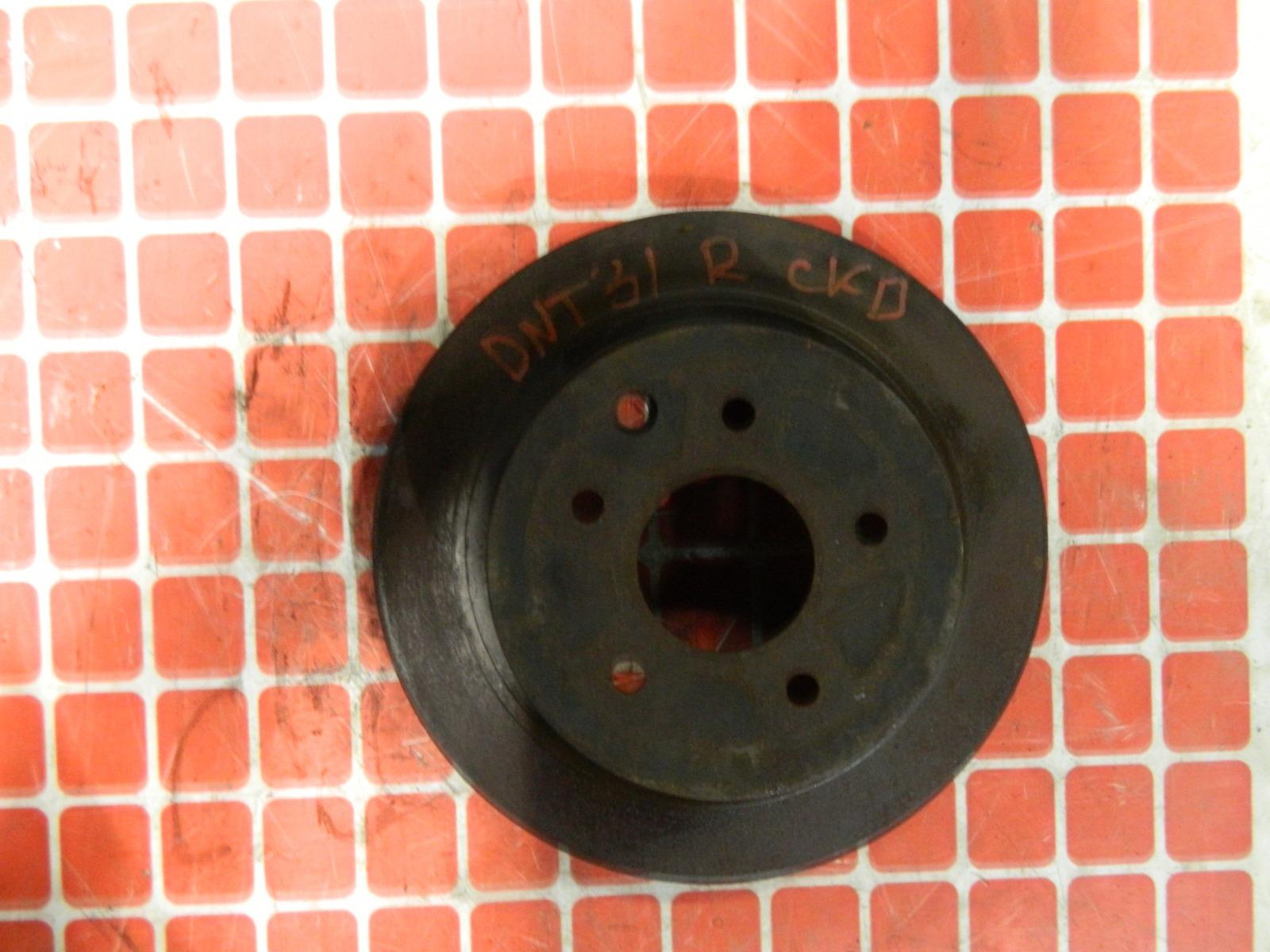 Тормозной диск Nissan X-Trail DNT31 задний (б/у)