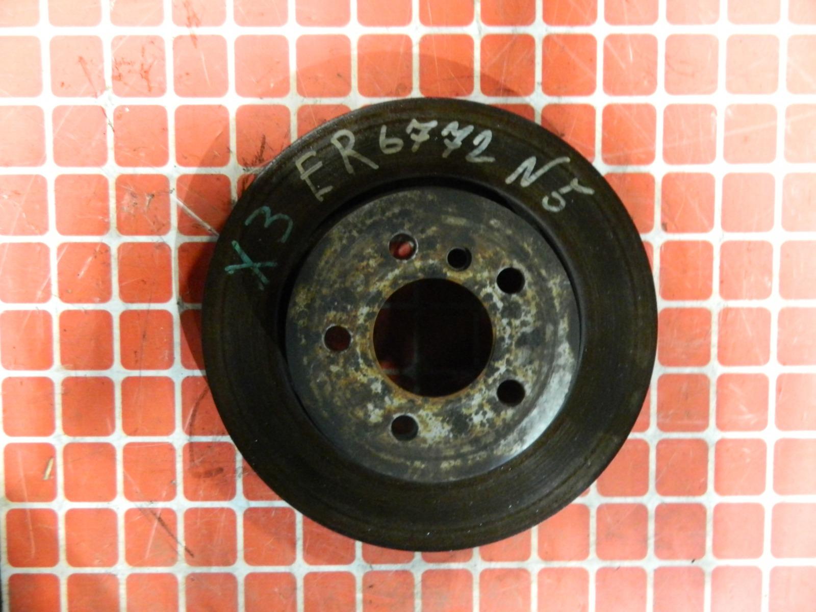 Тормозной диск Bmw X3 E83 передний (б/у)