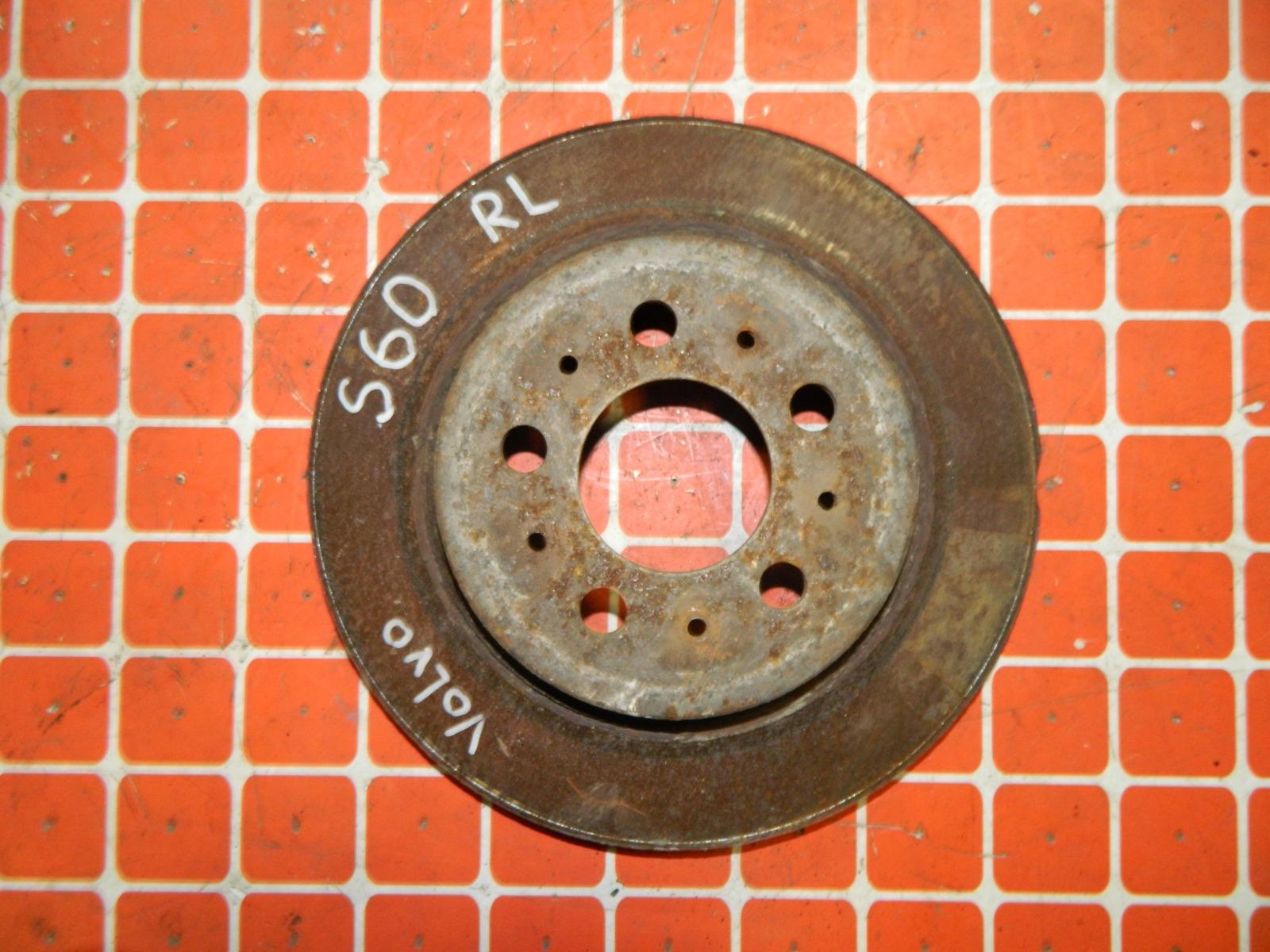 Тормозной диск Volvo S60 задний (б/у)