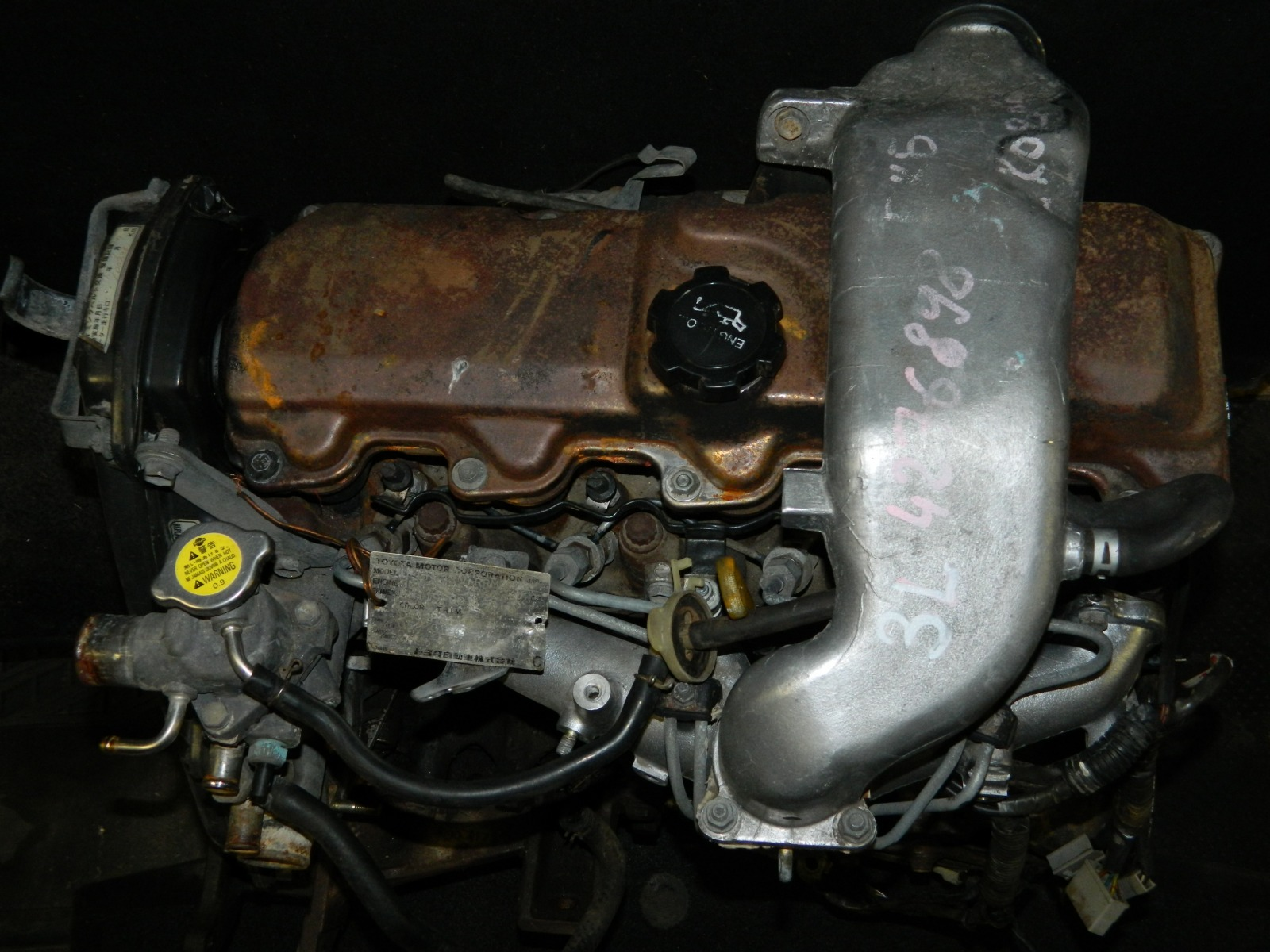 Двигатель Toyota Hiace LH119 3L (б/у)