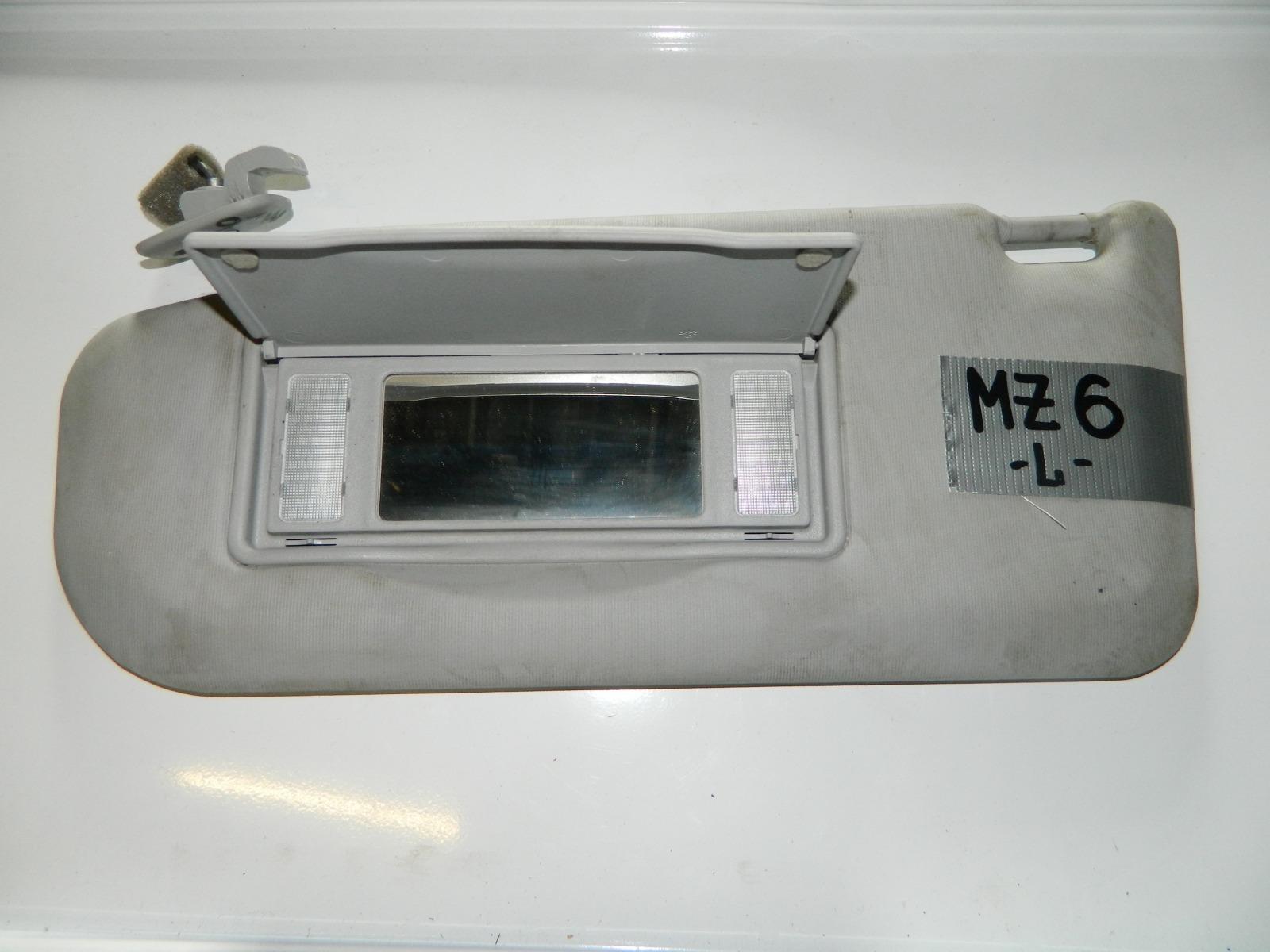 Козырек солнцезащитный Mazda 6 левый (б/у)