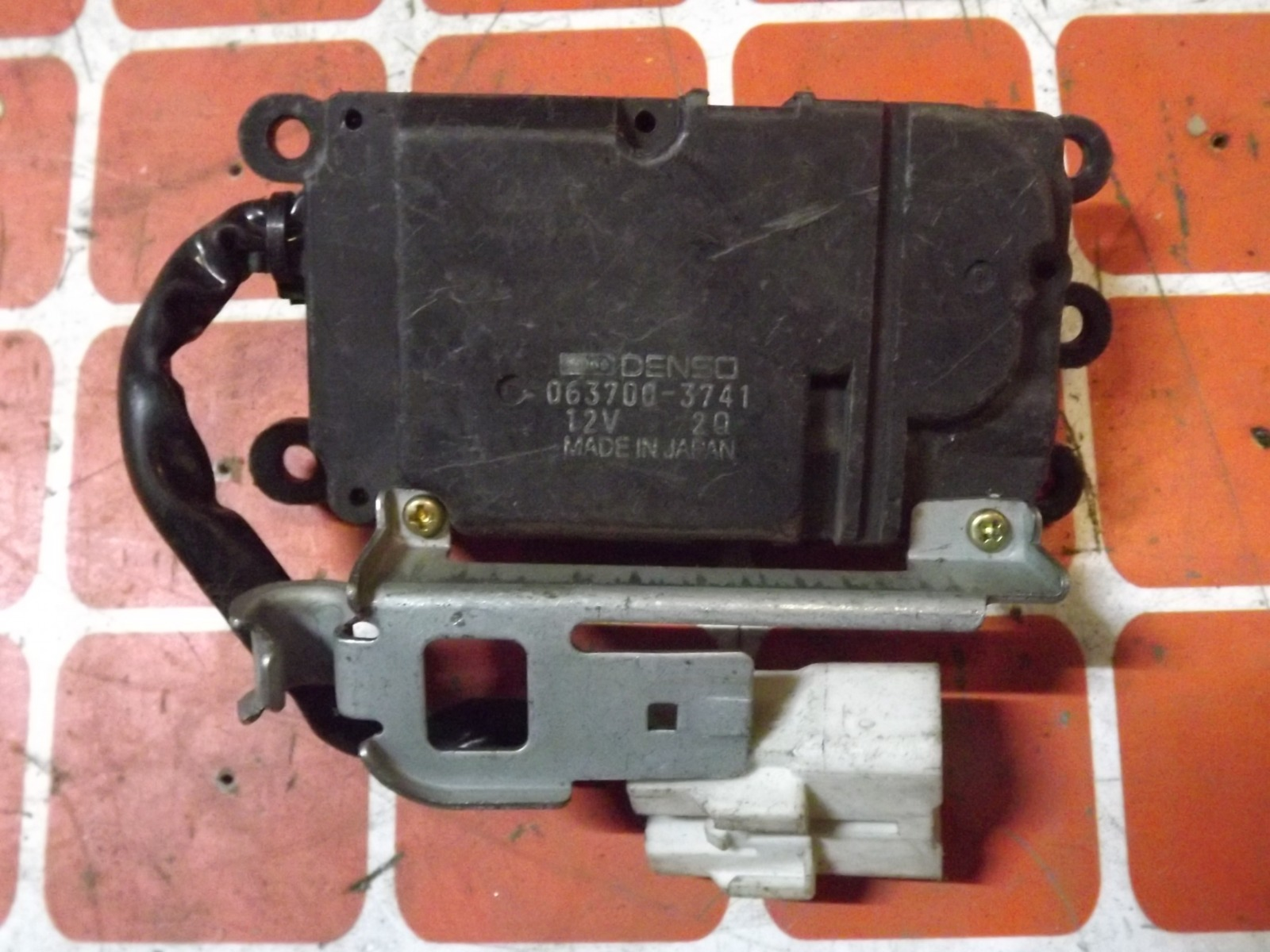 Сервопривод заслонки печки Toyota Corolla AE100 (б/у)