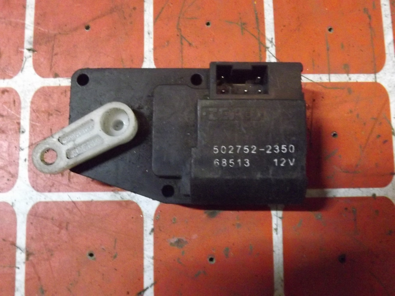 Сервопривод заслонки печки Mitsubishi Pajero KH6W (б/у)