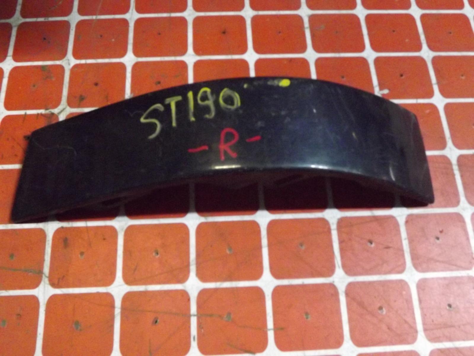 Планка под фонарь Toyota Caldina ST190 задняя правая (б/у)