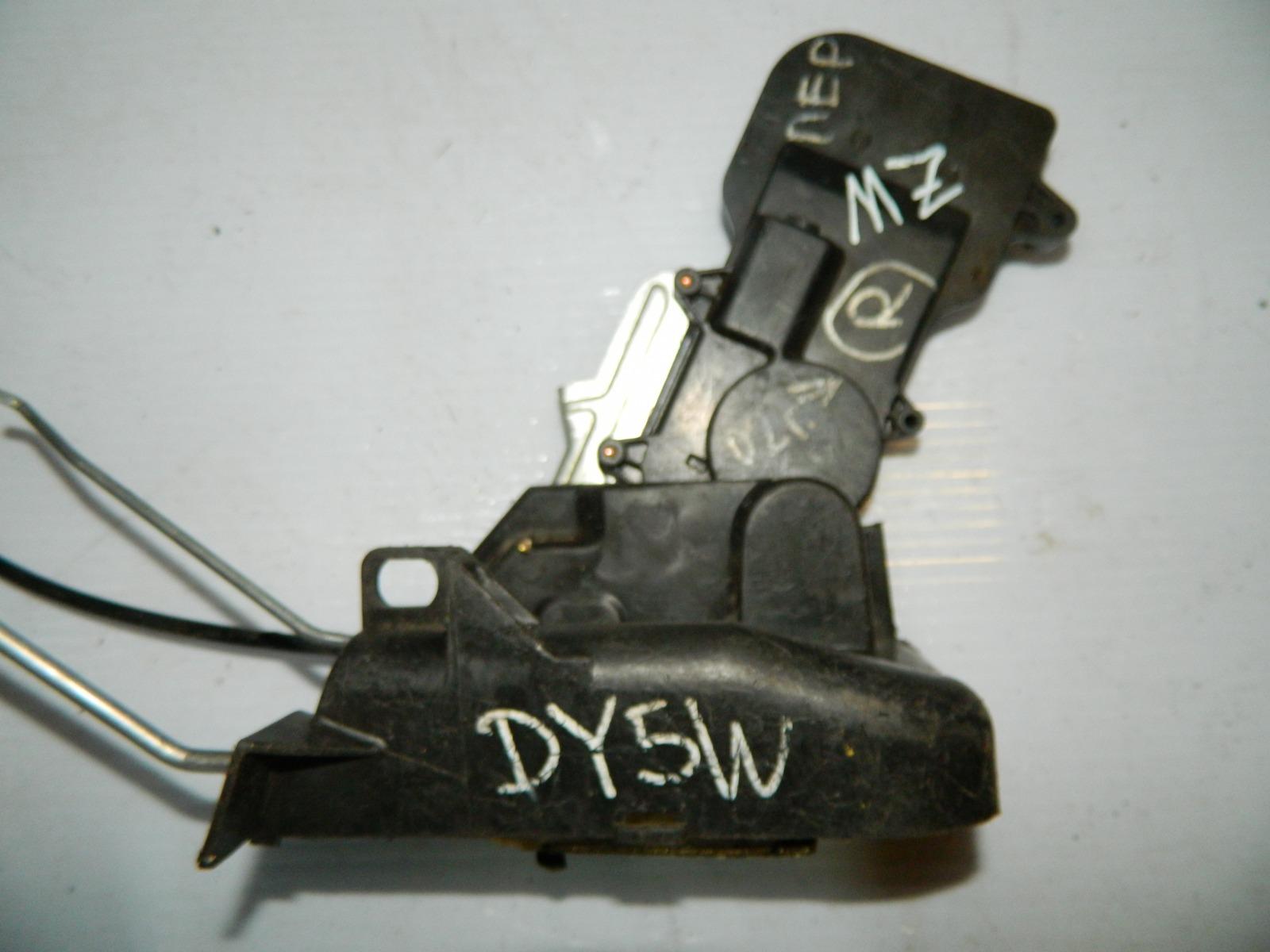 Замок двери Mazda Demio DY5W передний правый (б/у)