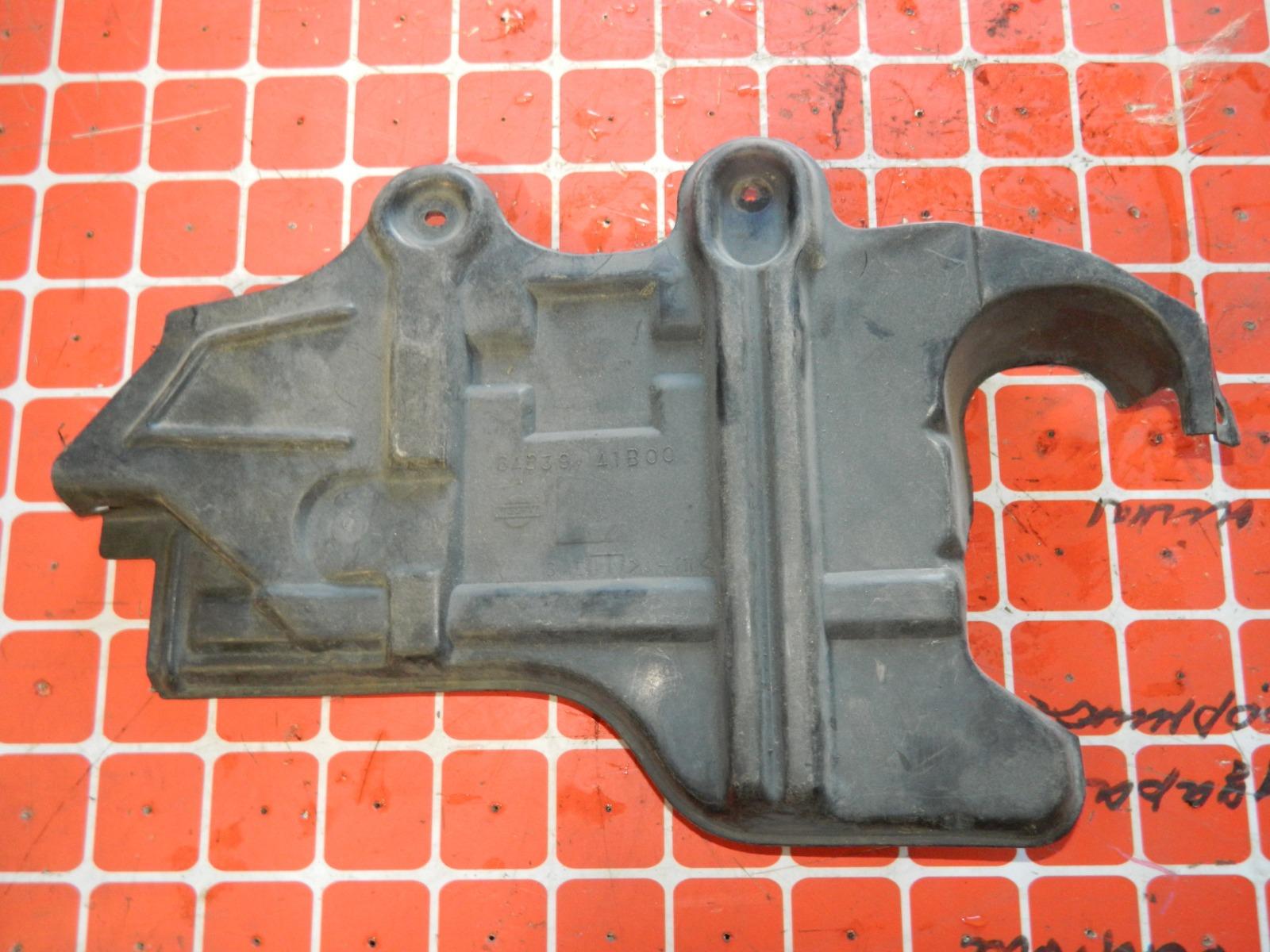 Защита двигателя Nissan Cube Z10 левая (б/у)