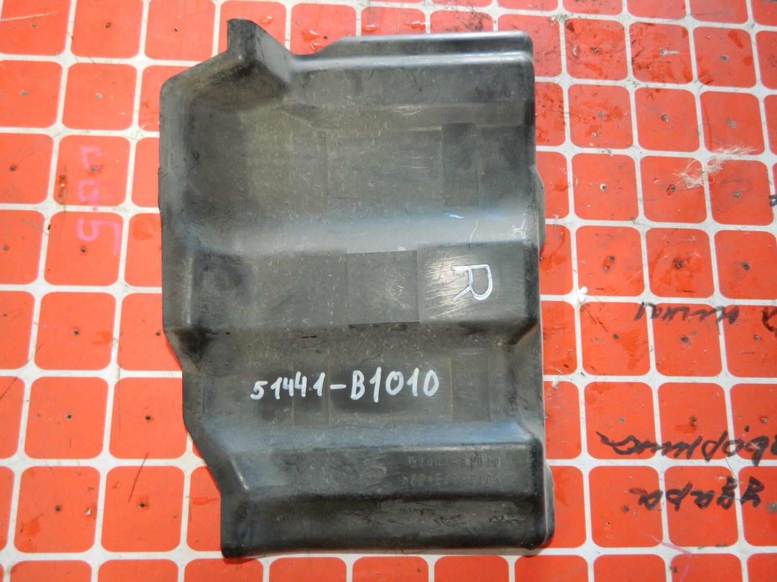 Защита двигателя Toyota Passo KGC10 правая (б/у)