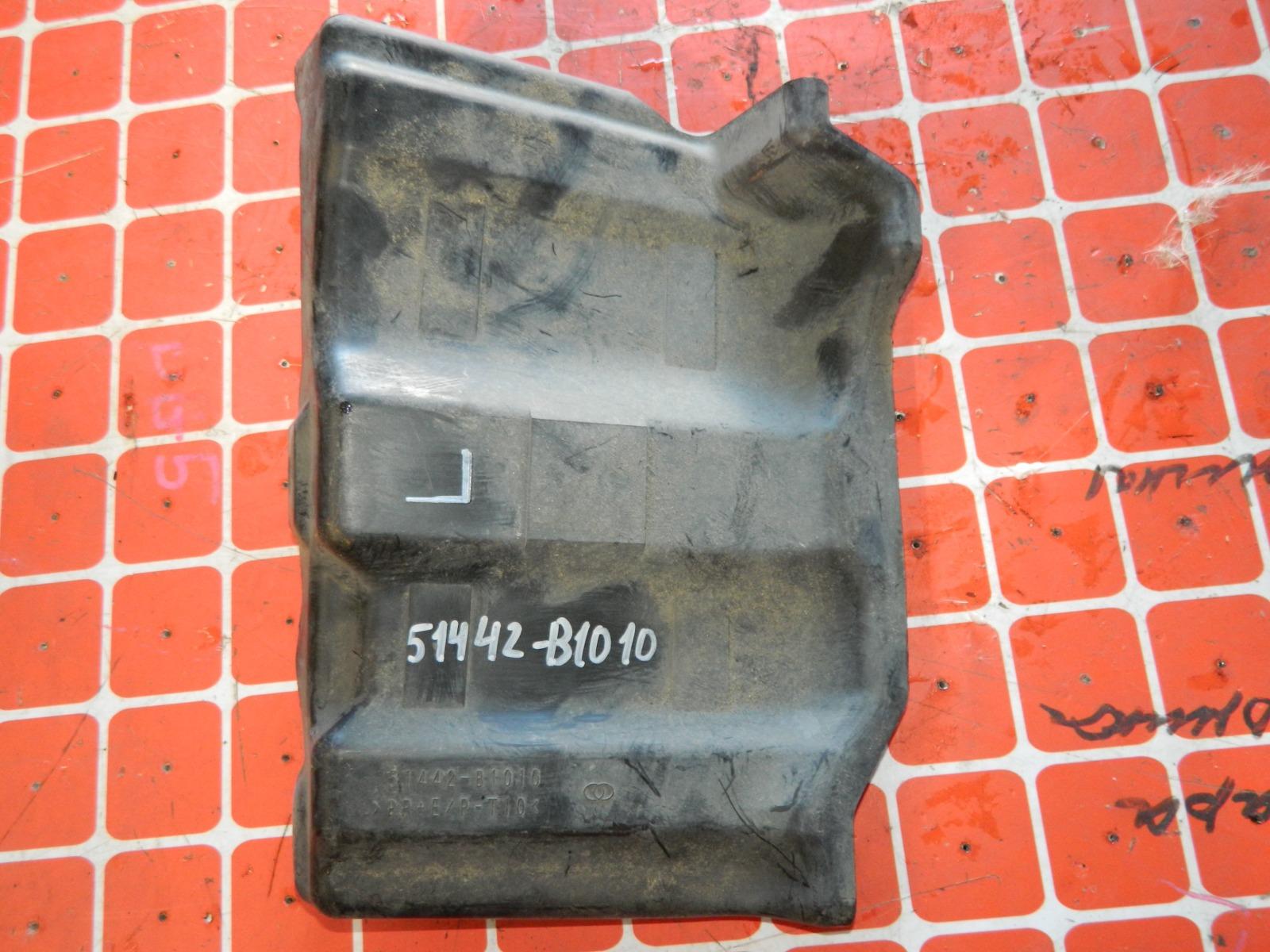 Защита двигателя Toyota Passo KGC10 левая (б/у)