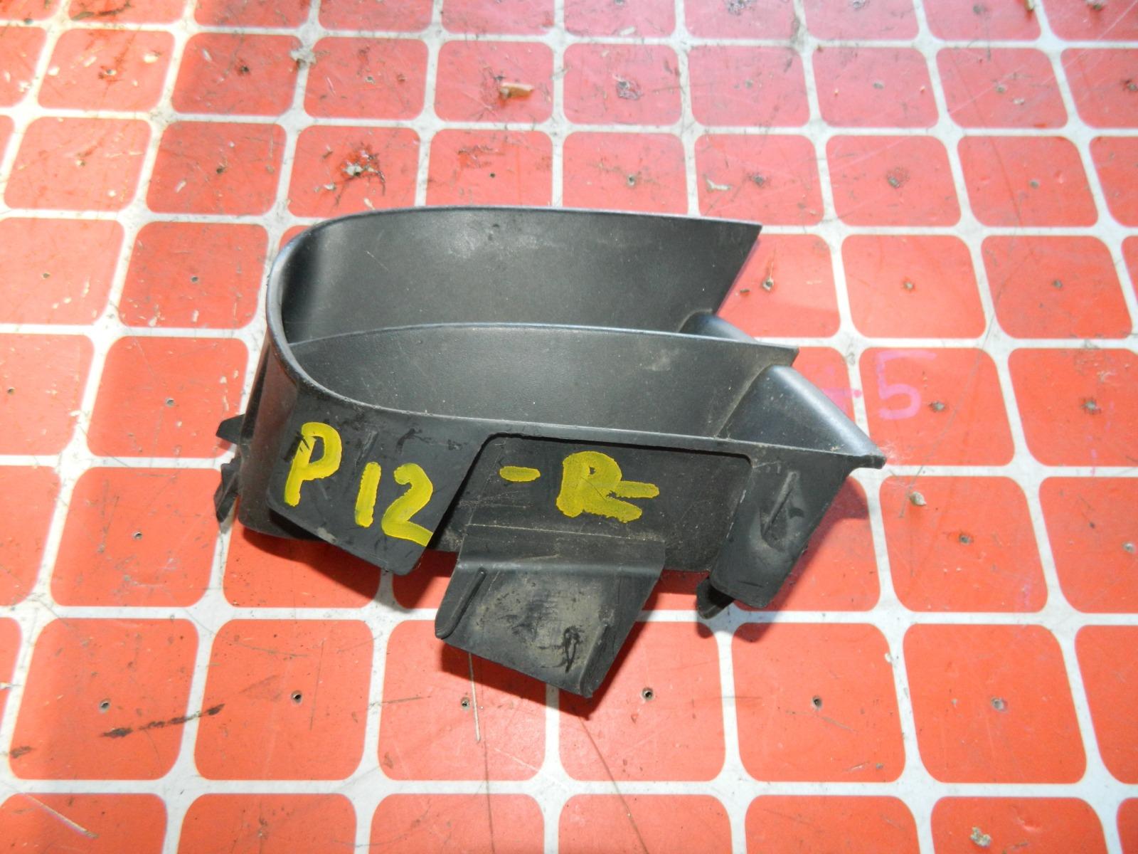 Решетка бампера Nissan Primera P12 передняя правая (б/у)