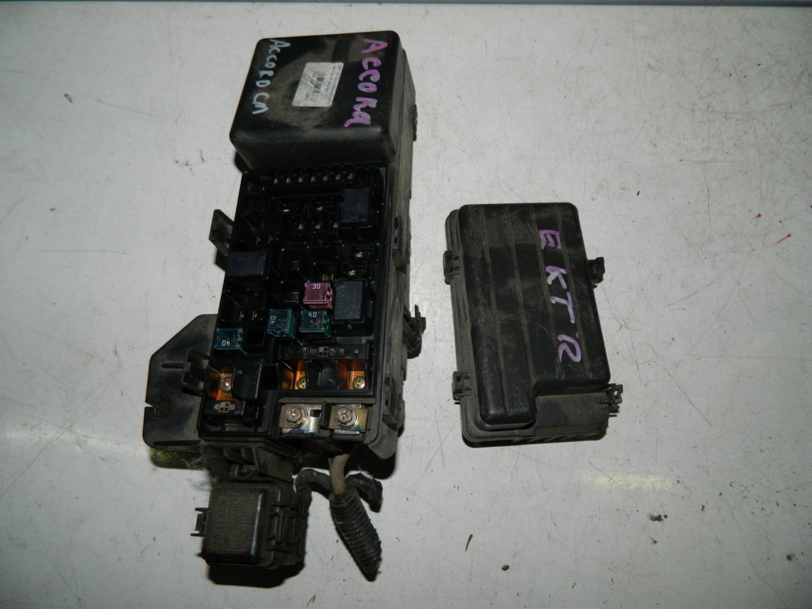 Блок предохранителей Honda Accord CM2 K24A (б/у)
