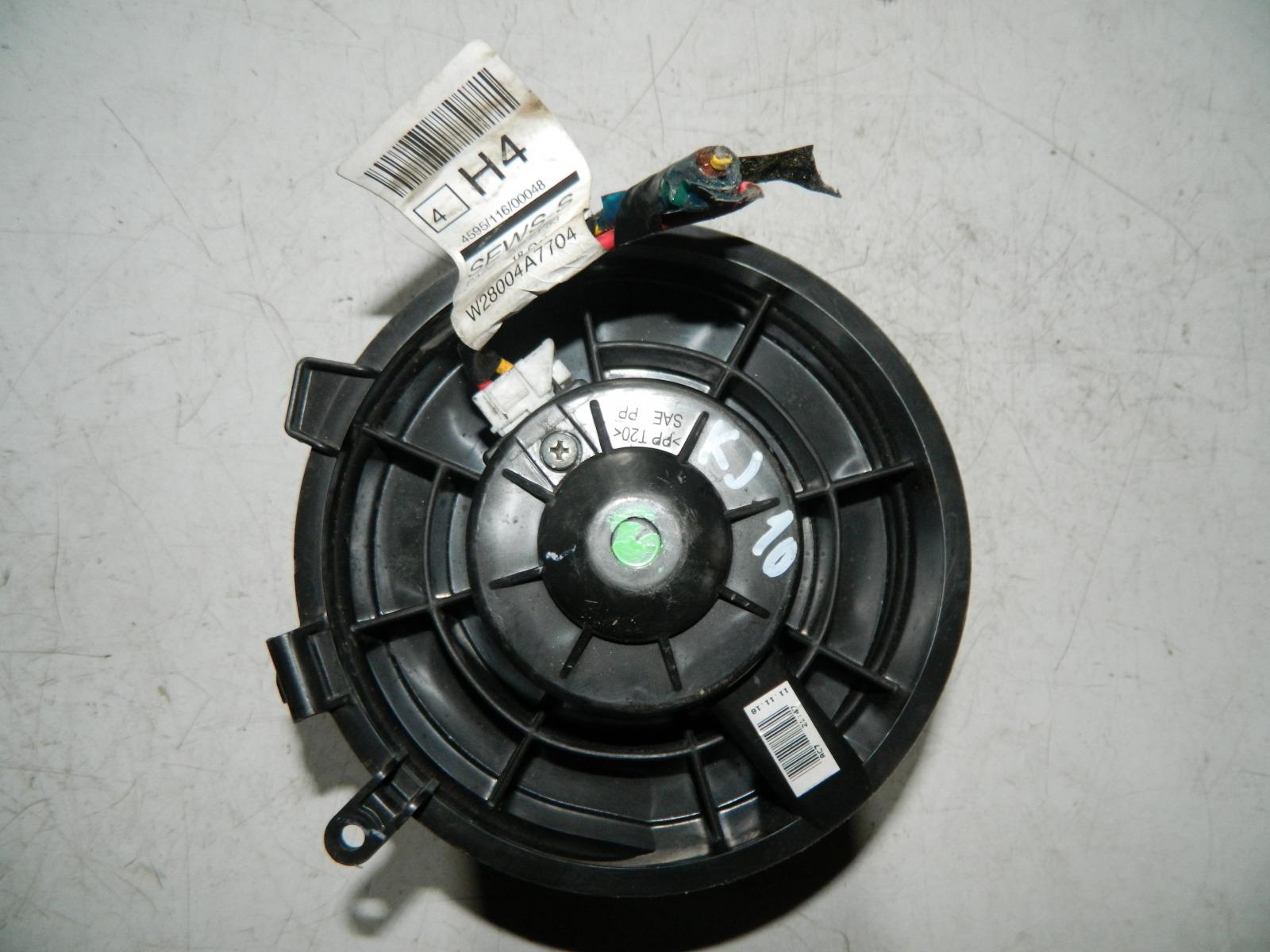 Мотор печки Nissan Qashqai KJ10 (б/у)