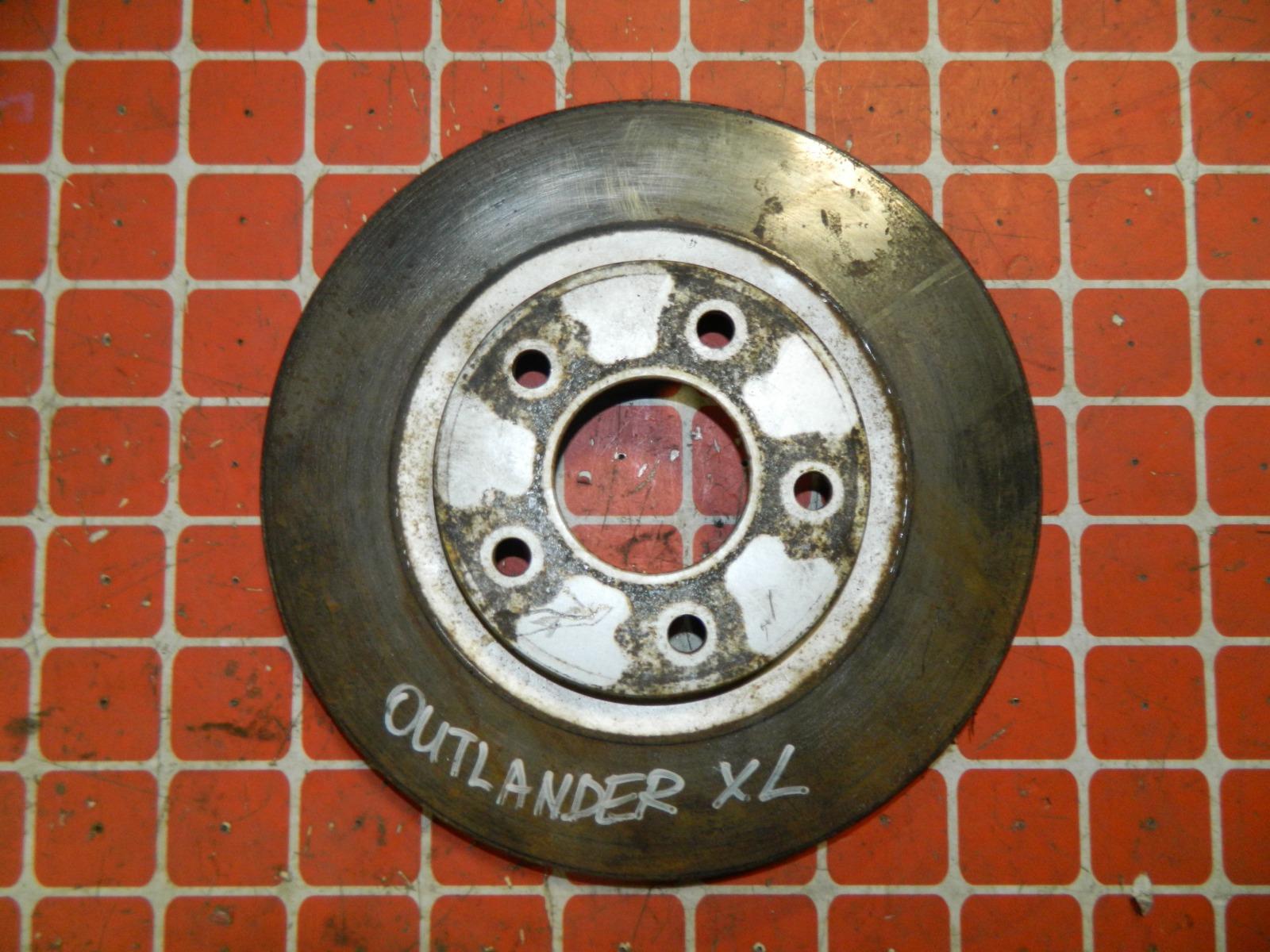 Тормозной диск Mitsubishi Outlander Xl (б/у)