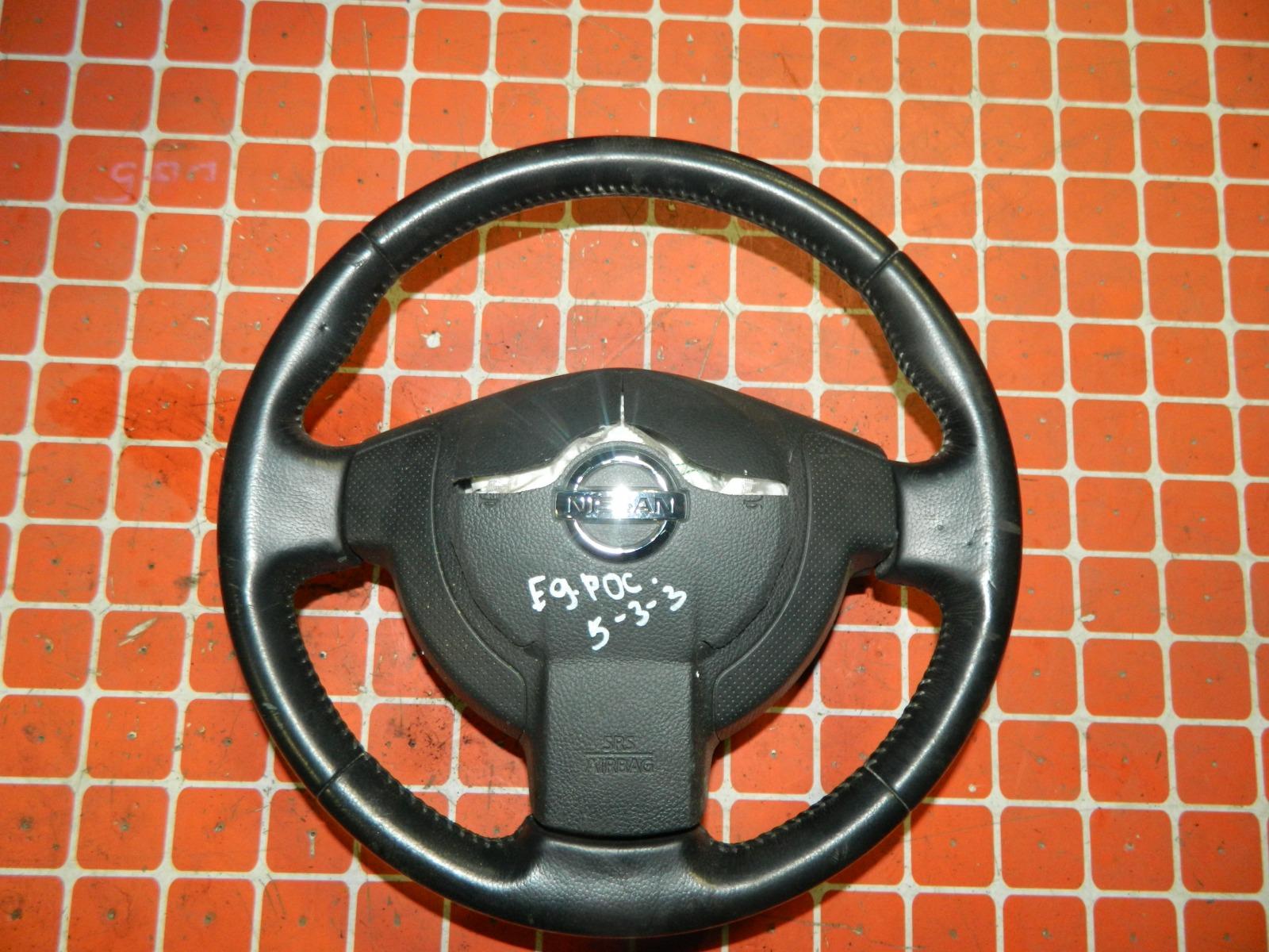 Руль Nissan Qashqai KJ10 (б/у)