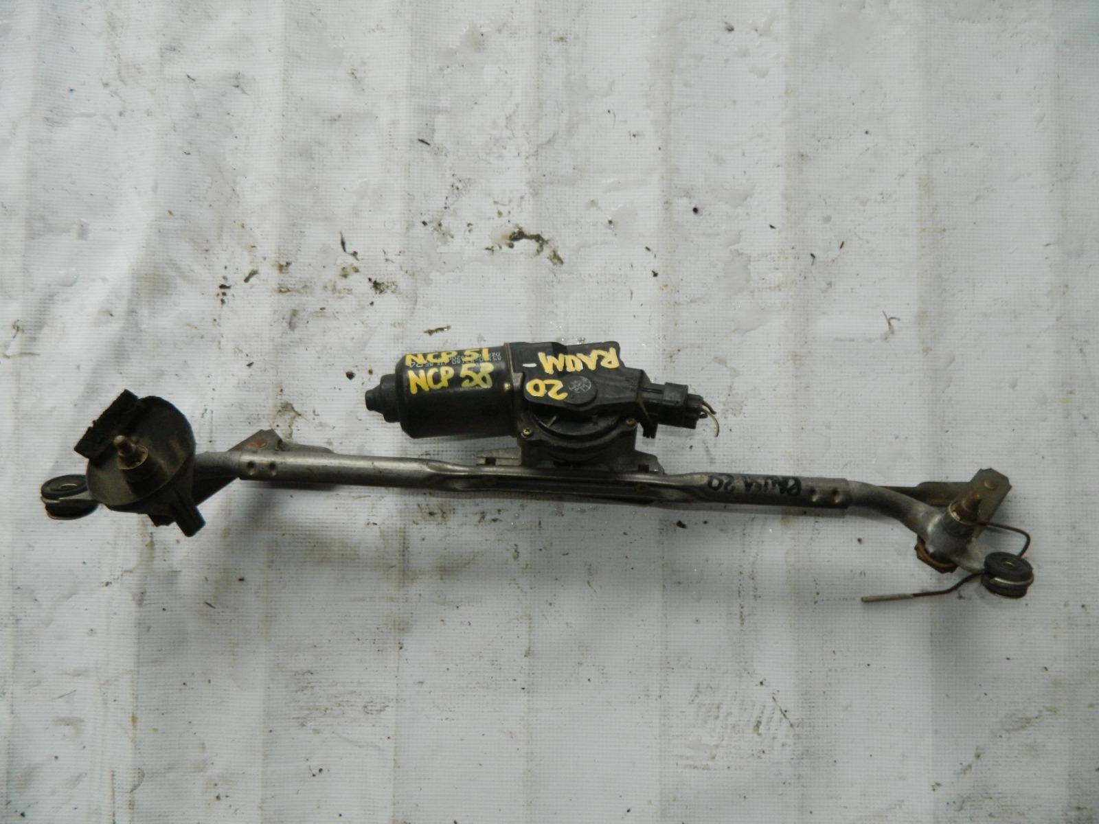 Мотор дворников Toyota Raum NCP51 (б/у)