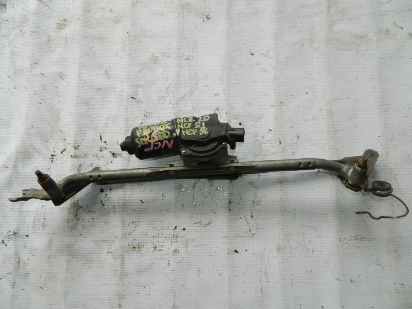 Мотор дворников Toyota Raum NCZ20 (б/у)