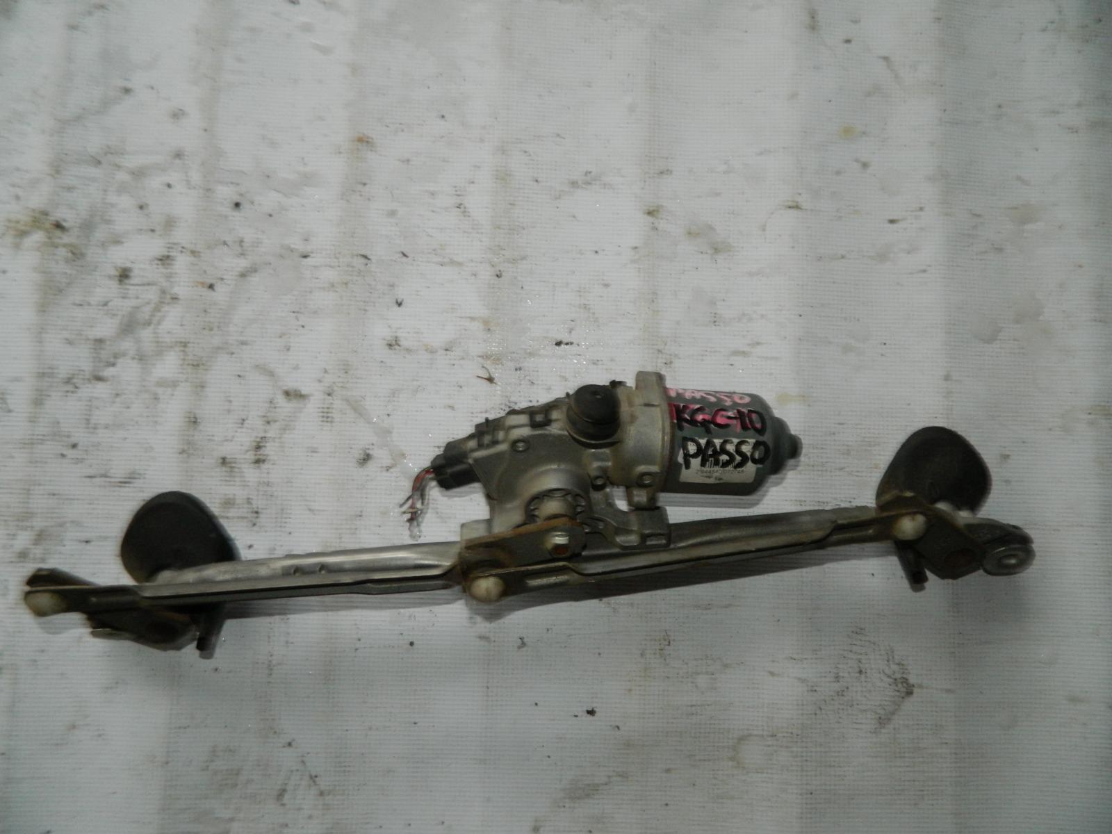 Мотор дворников Toyota Passo KGC10 (б/у)