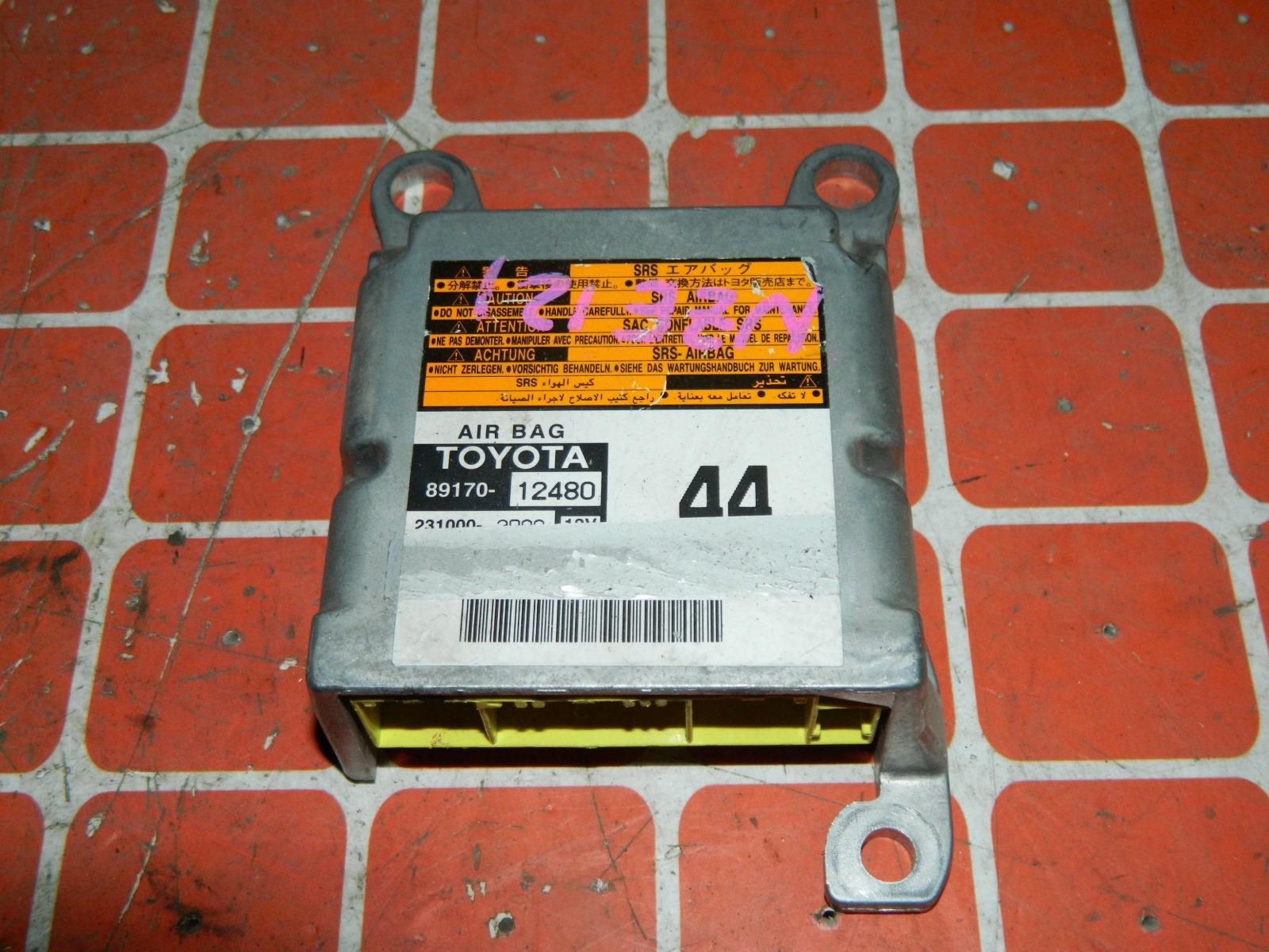 Блок управления airbag Toyota Corolla NZE121 (б/у)