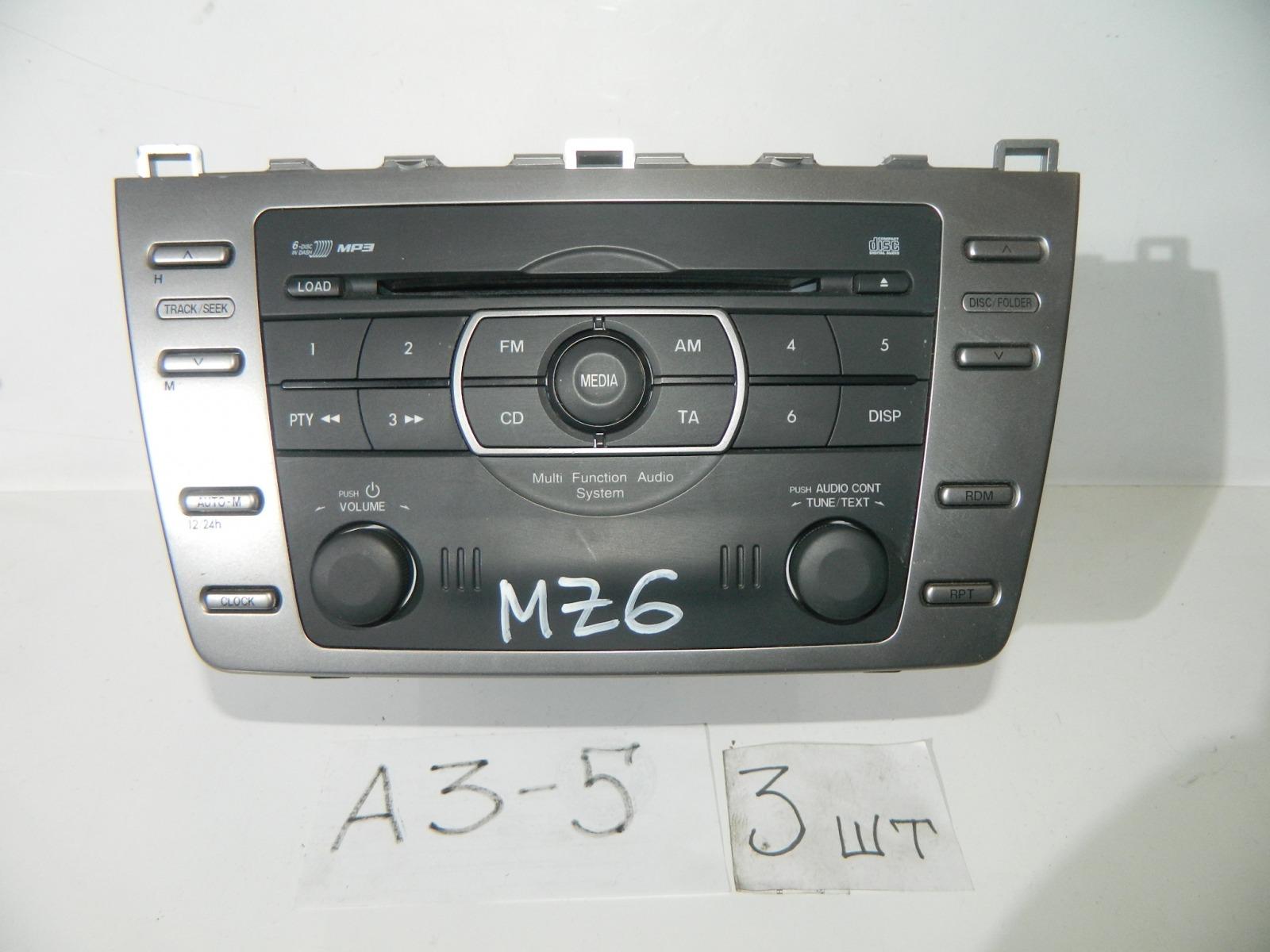 Магнитола Mazda Mazda 6 GH (б/у)