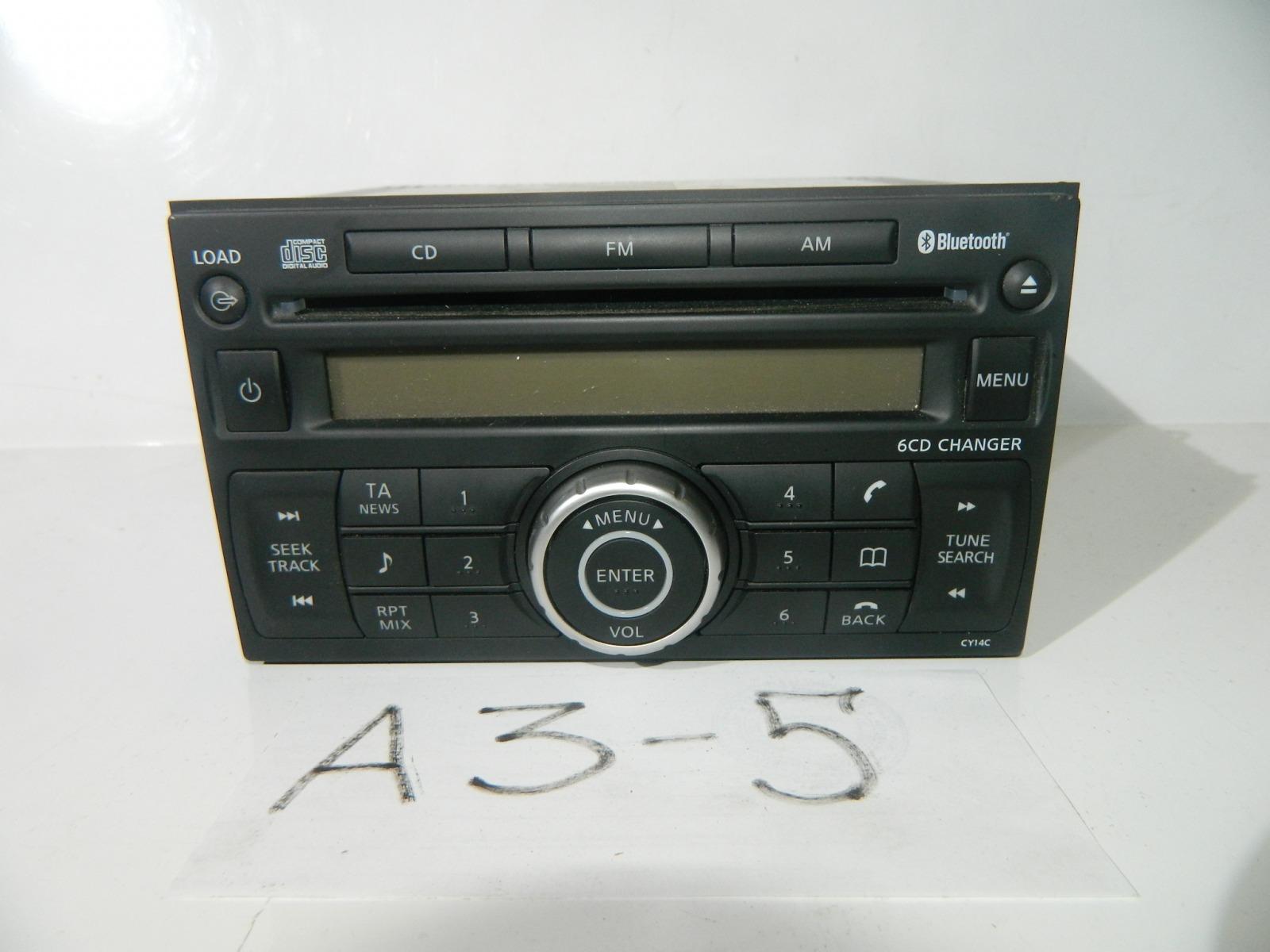 Магнитола Nissan Qashqai J10E (б/у)