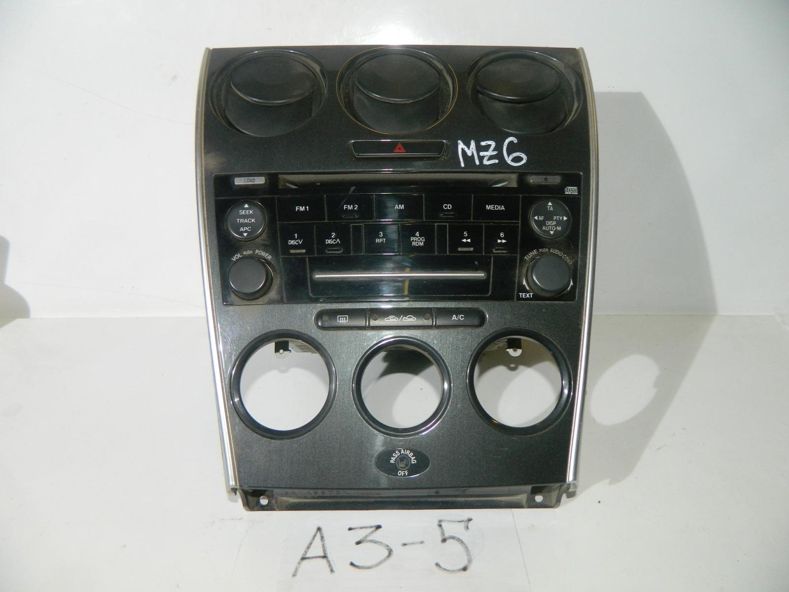 Магнитола Mazda Mazda 6 GG (б/у)