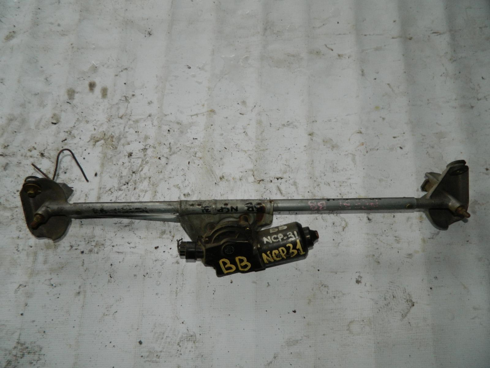 Мотор дворников Toyota Bb NCP31 (б/у)