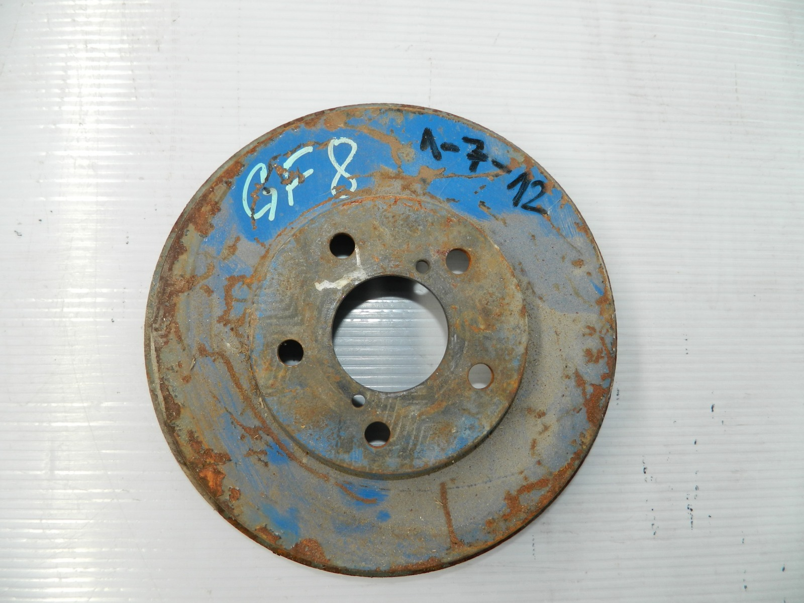 Тормозной диск Subaru Impreza GF8 передний (б/у)