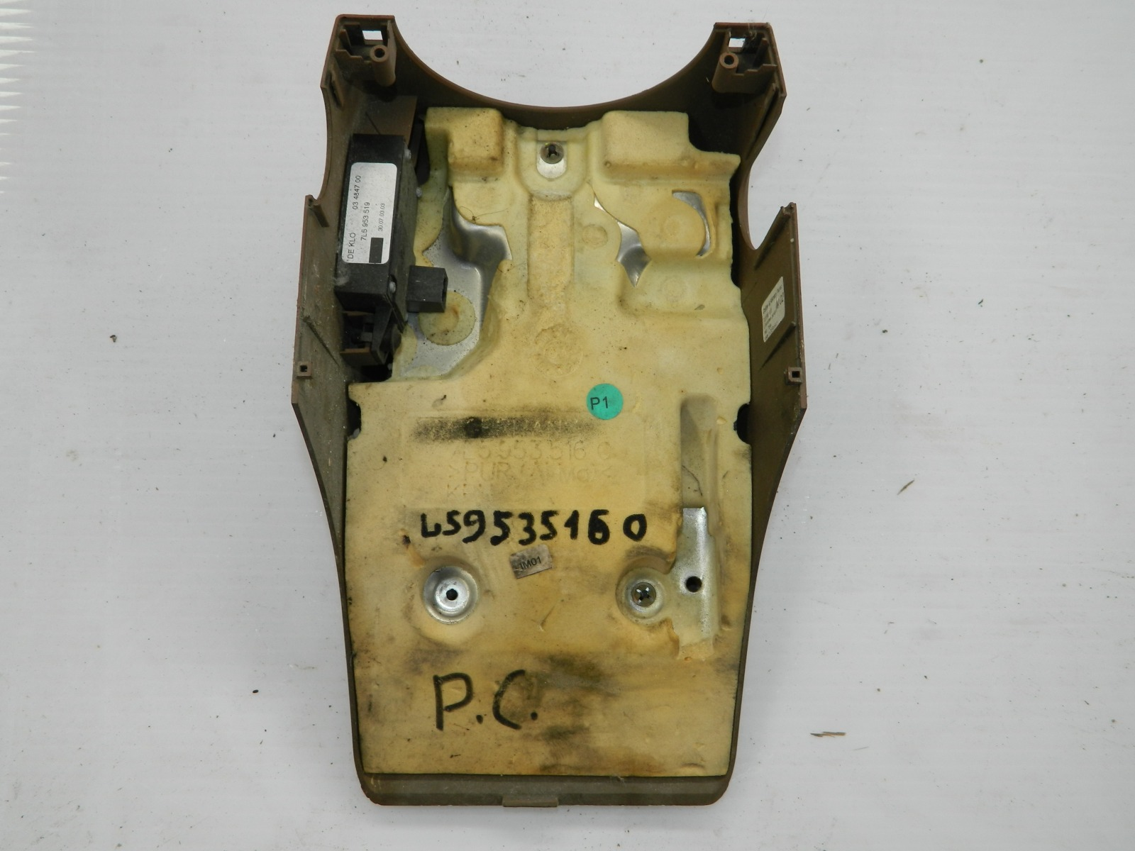 Блок кнопок регулировки рулевой колонки Porsche Cayenne 955 (б/у)
