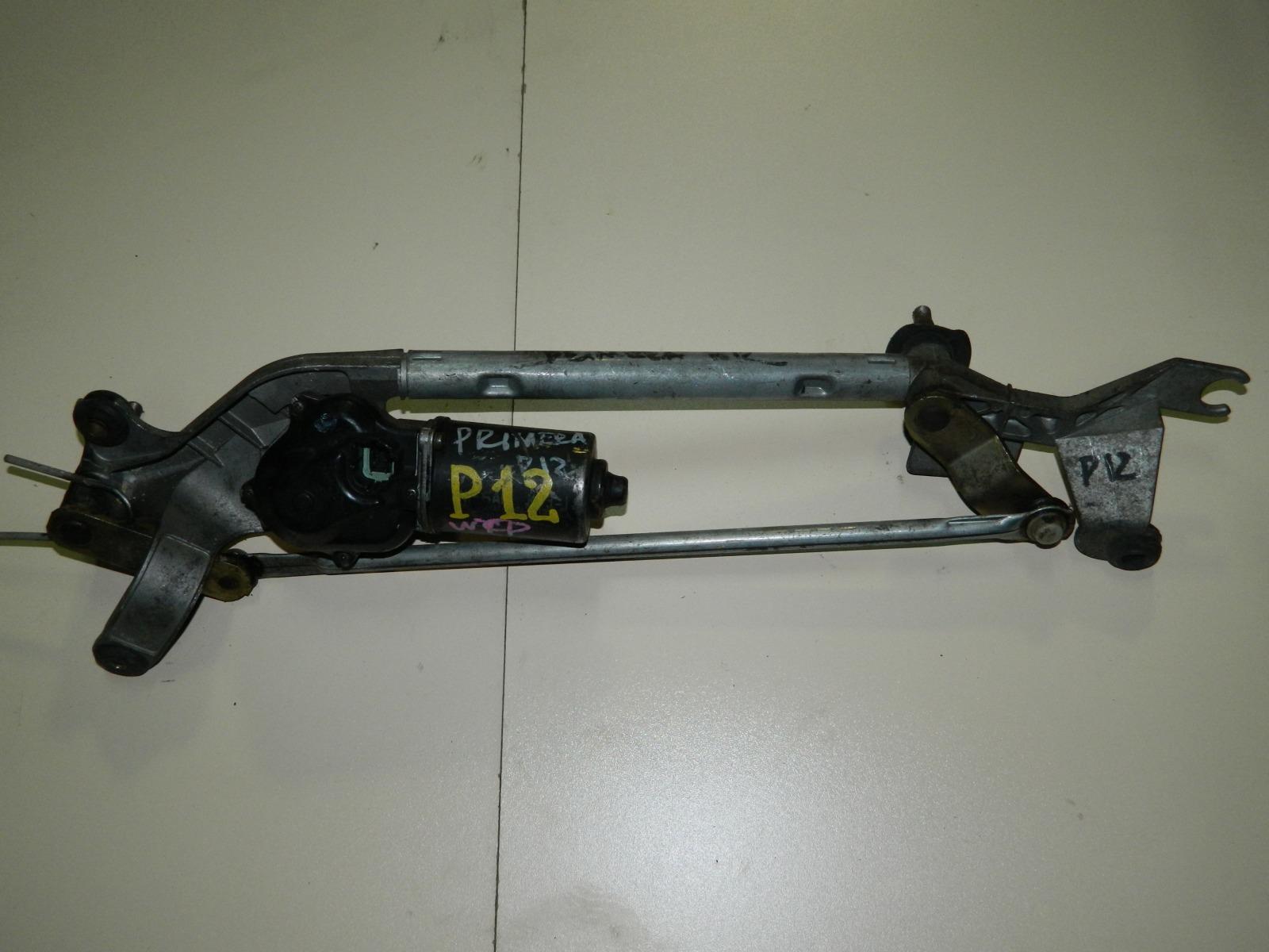 Мотор дворников Nissan Primera P12 (б/у)
