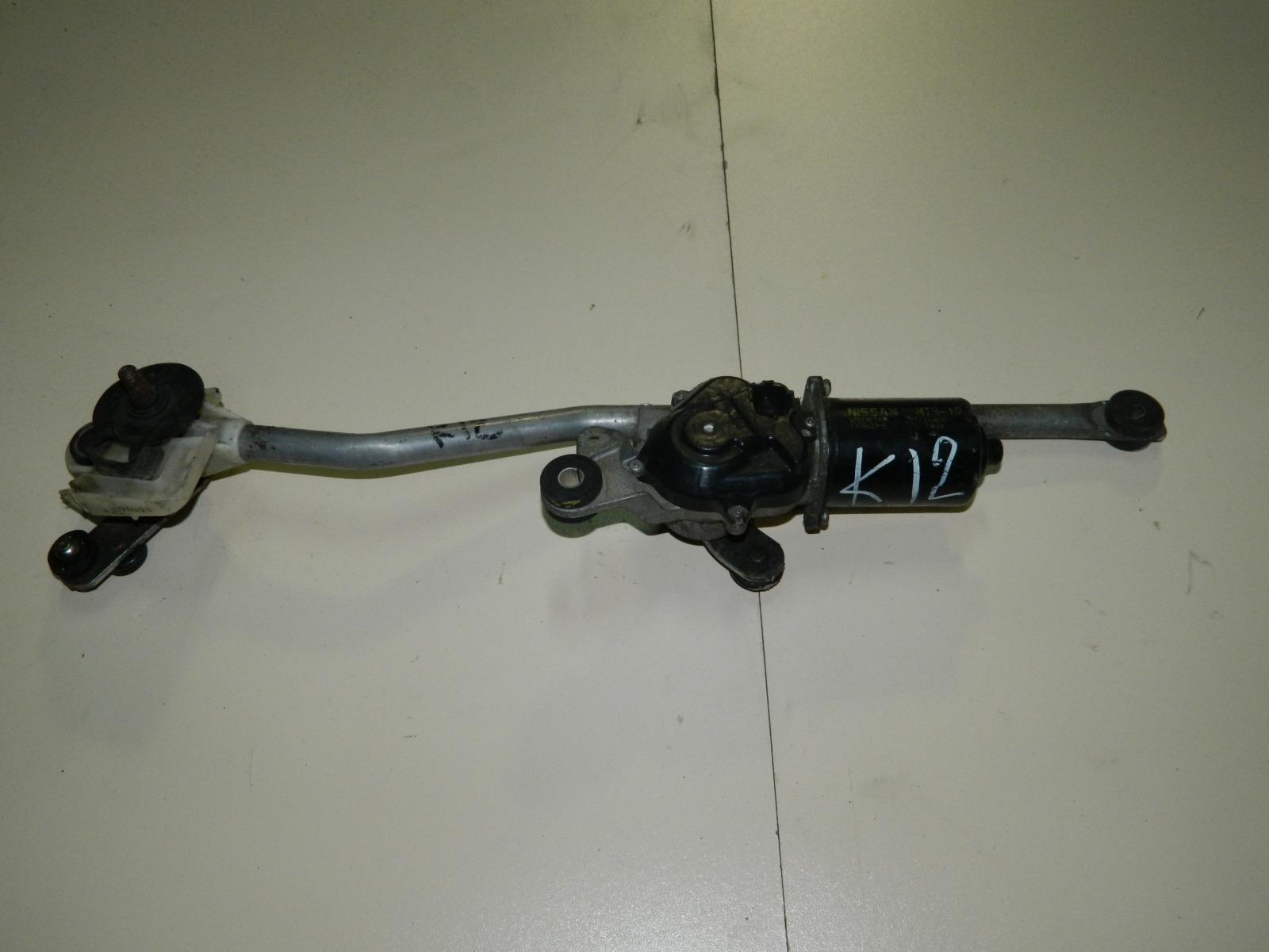 Мотор дворников Nissan March K12 (б/у)