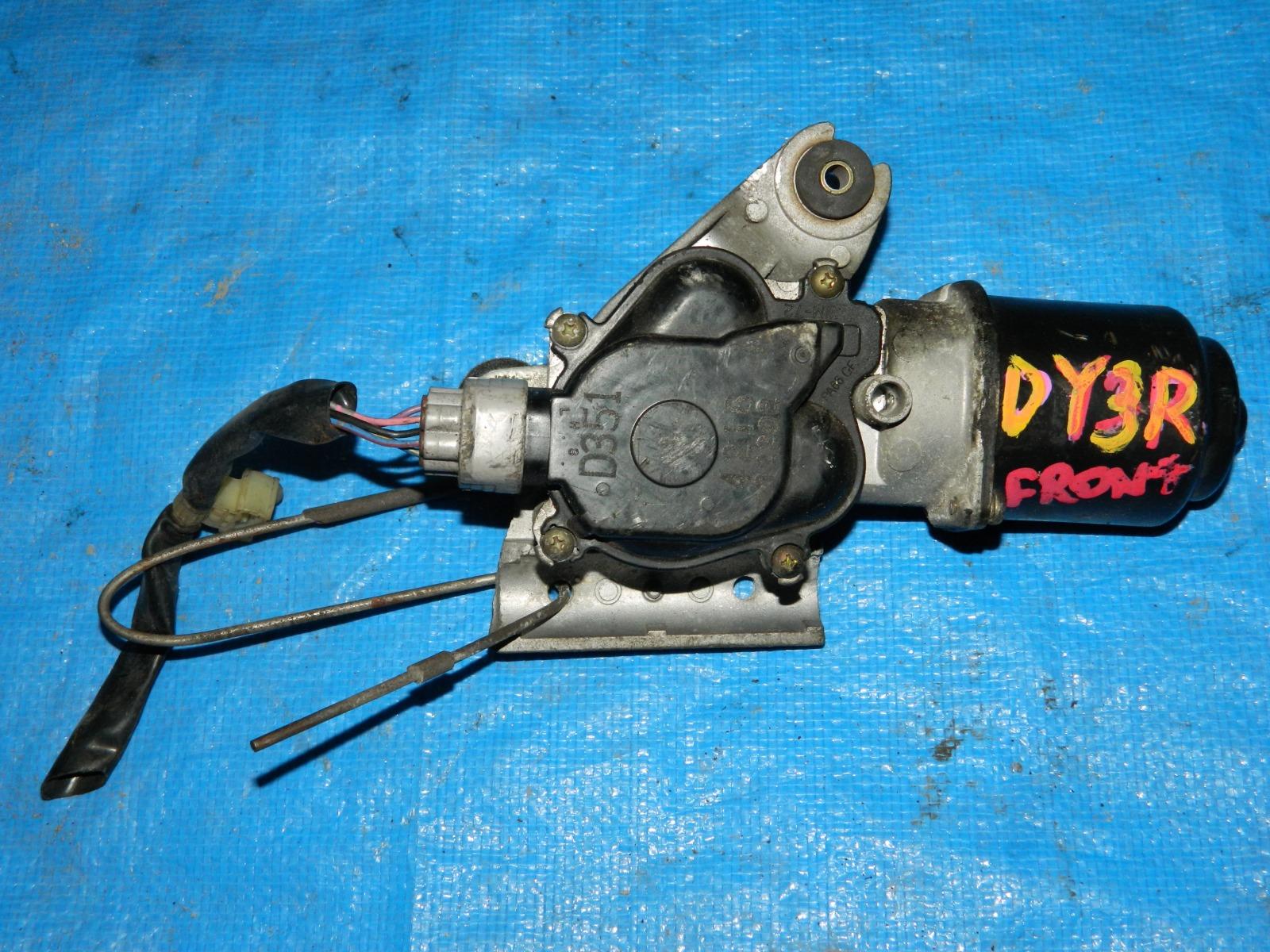 Мотор дворников Mazda Demio DY3R (б/у)