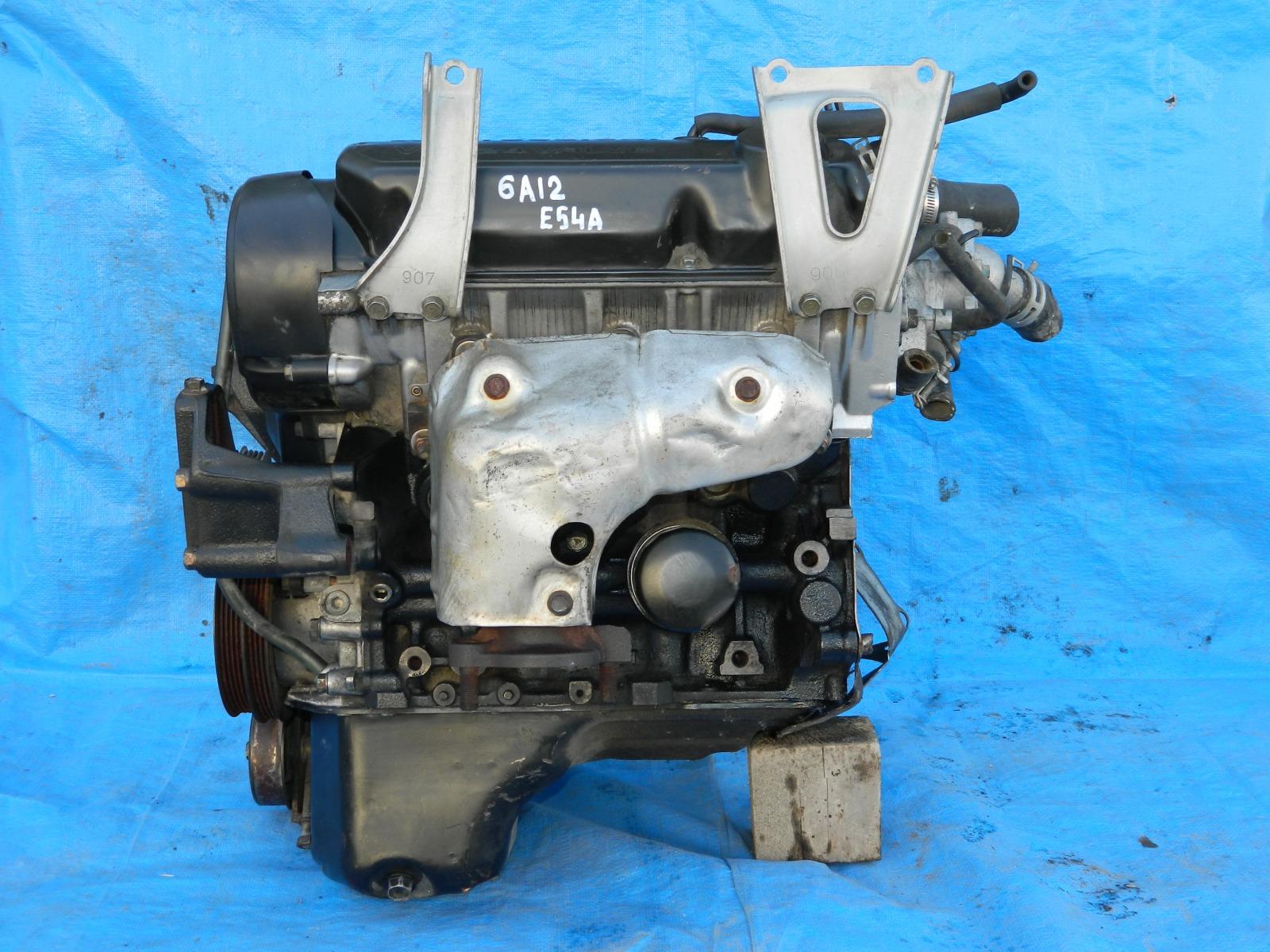 Двигатель Mitsubishi Galant E54A 6A12 (б/у)