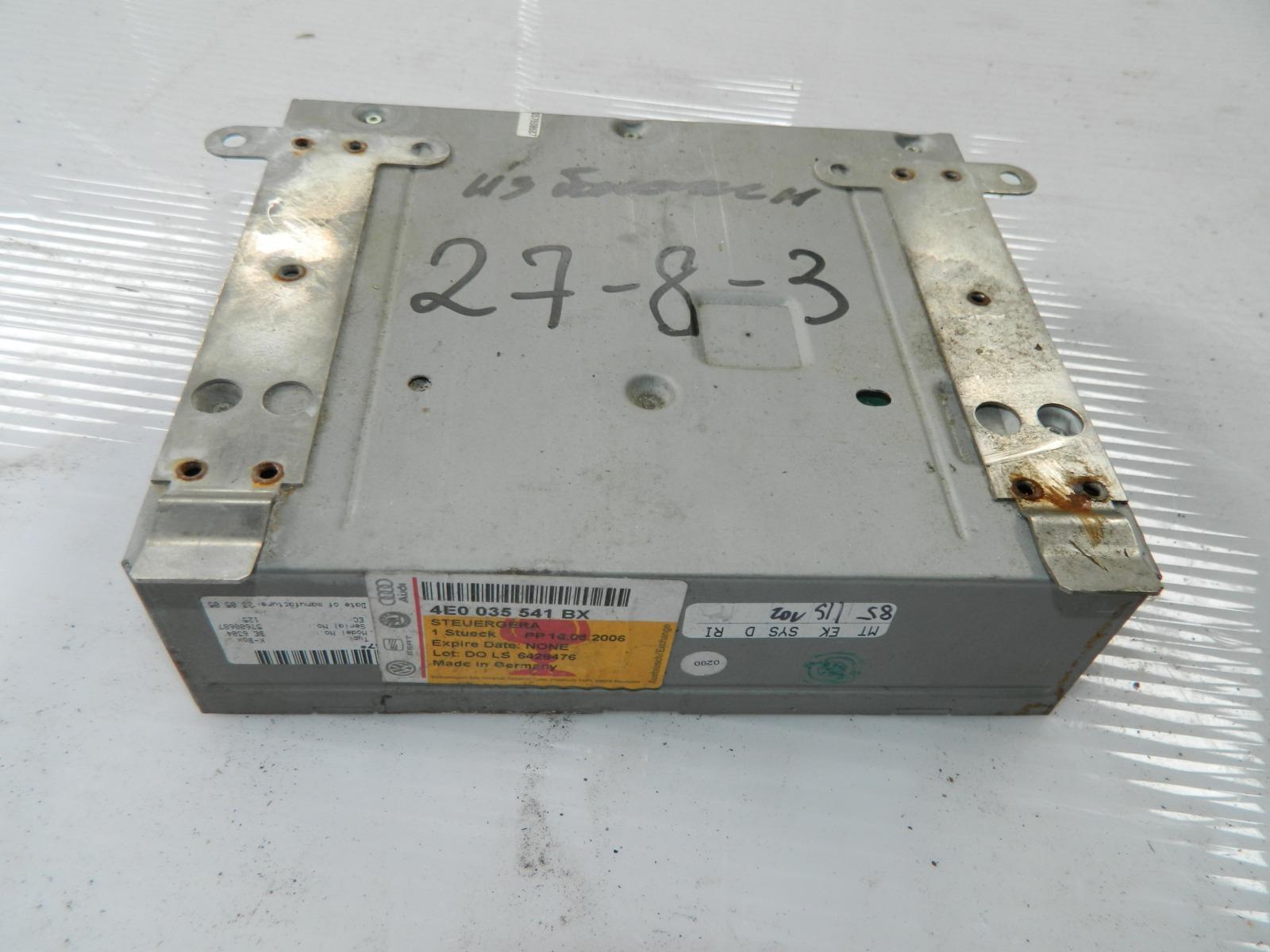 Блок управления магнитолой Audi A8 4E2 (б/у)