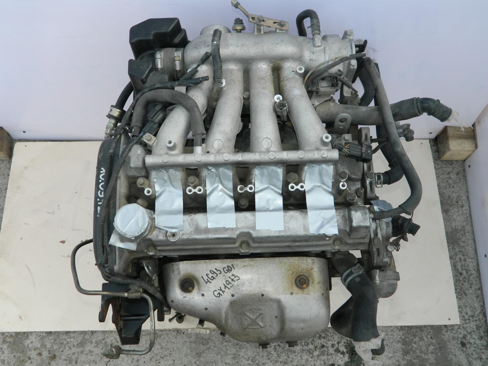 Двигатель Mitsubishi Lancer 4G93 (б/у)