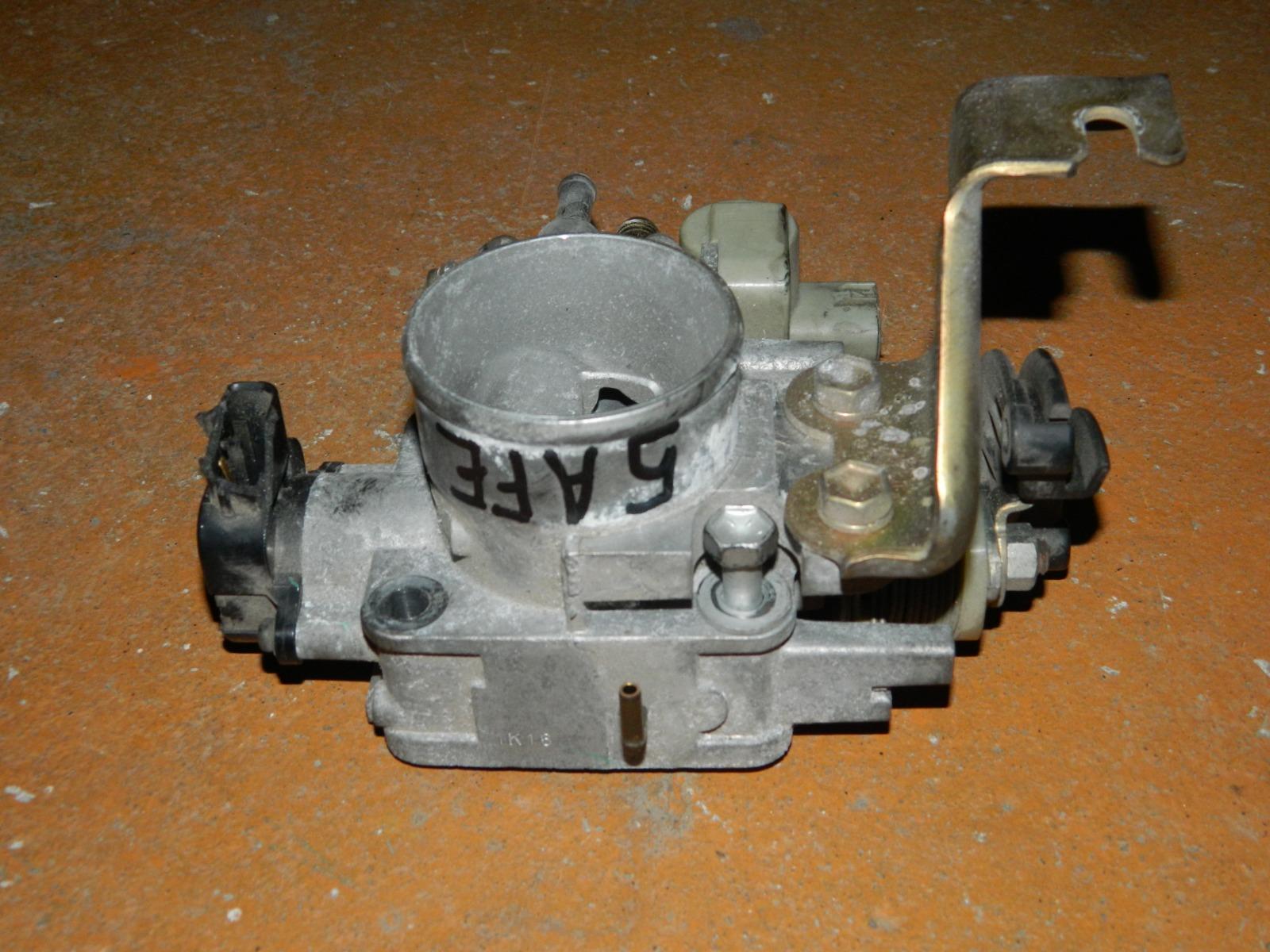 Дроссельная заслонка Toyota Corolla 5AFE (б/у)