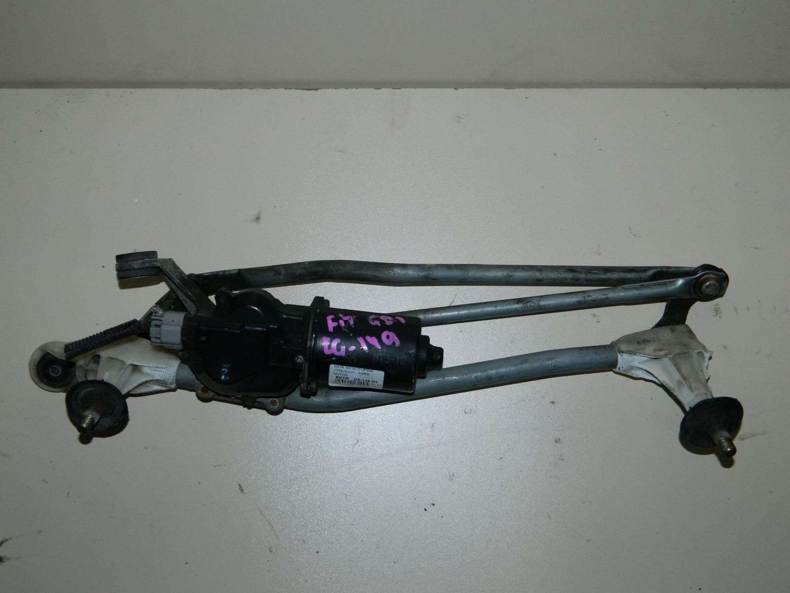 Мотор дворников Honda Fit GD1 (б/у)