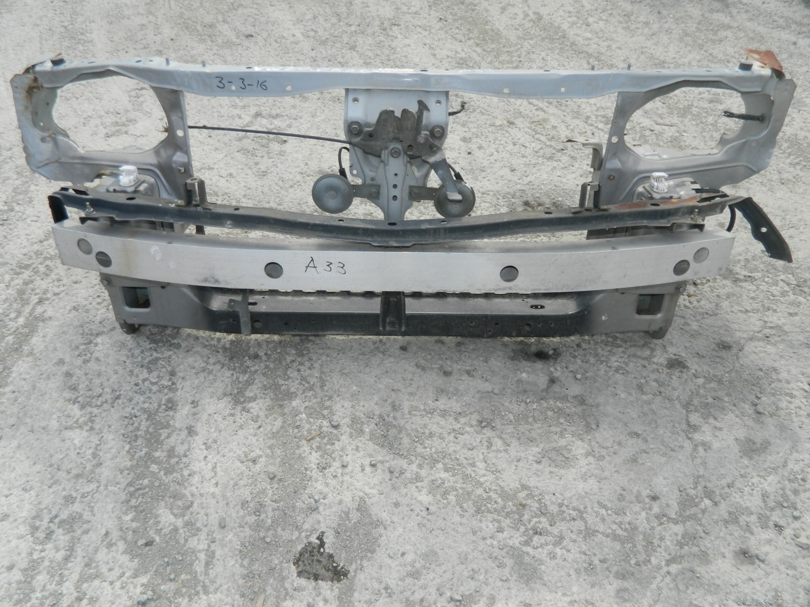 Рамка радиатора Nissan Cefiro A33 (б/у)