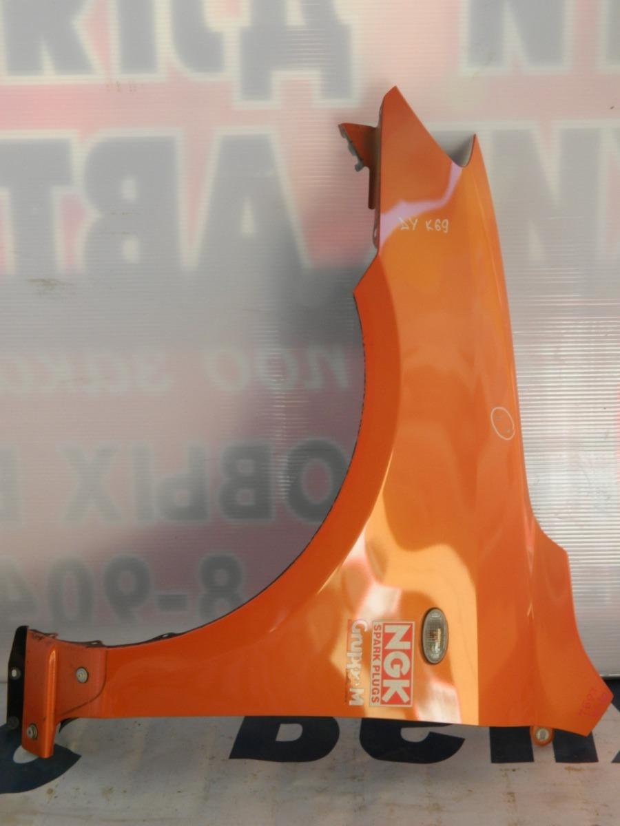 Крыло Mazda Demio DY3W переднее левое (б/у)