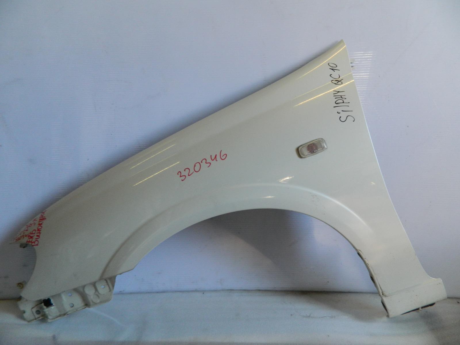 Крыло Nissan Bluebird Sylphy. Almera QG10 переднее левое (б/у)