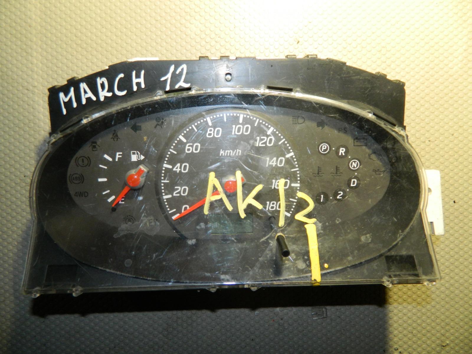 Панель приборов Nissan March AK12 (б/у)