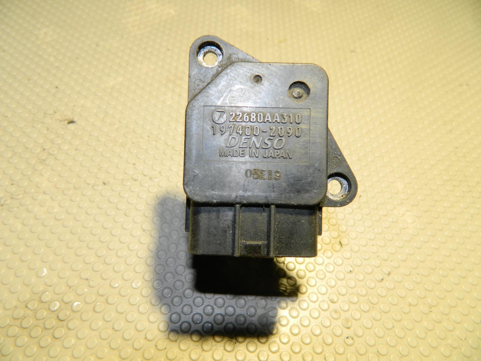 Датчик расхода воздуха Subaru Forester SG5 (б/у)