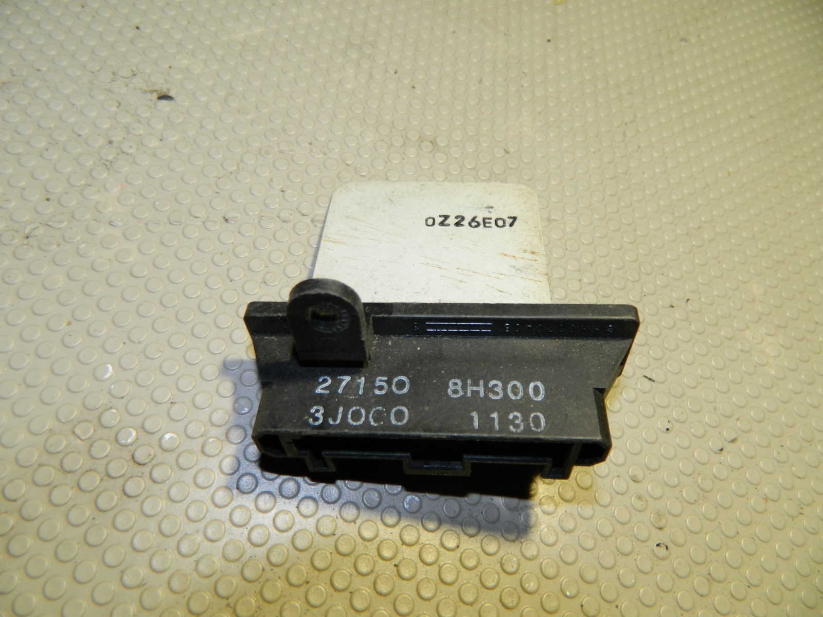 Реостат отопителя Nissan X-Trail T30 (б/у)