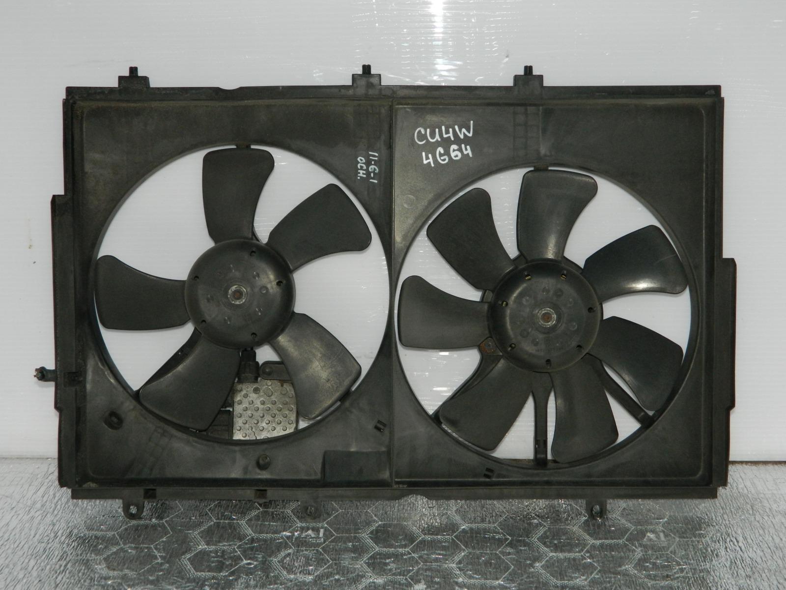 Диффузор радиатора Mitsubishi Airtrek CU4W 4G64 (б/у)