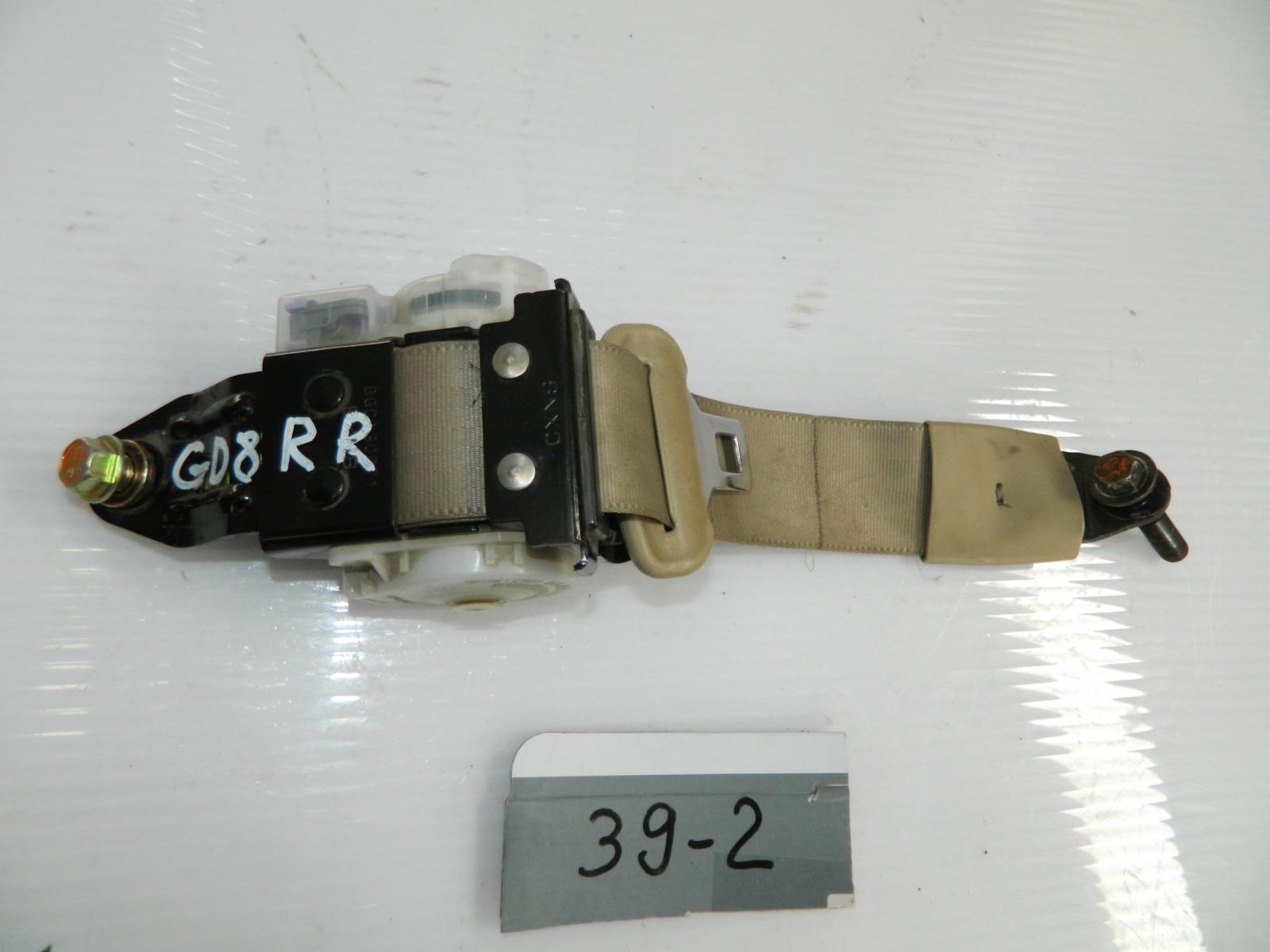 Ремень безопасности Honda Fit Aria GD8 задний правый (б/у)