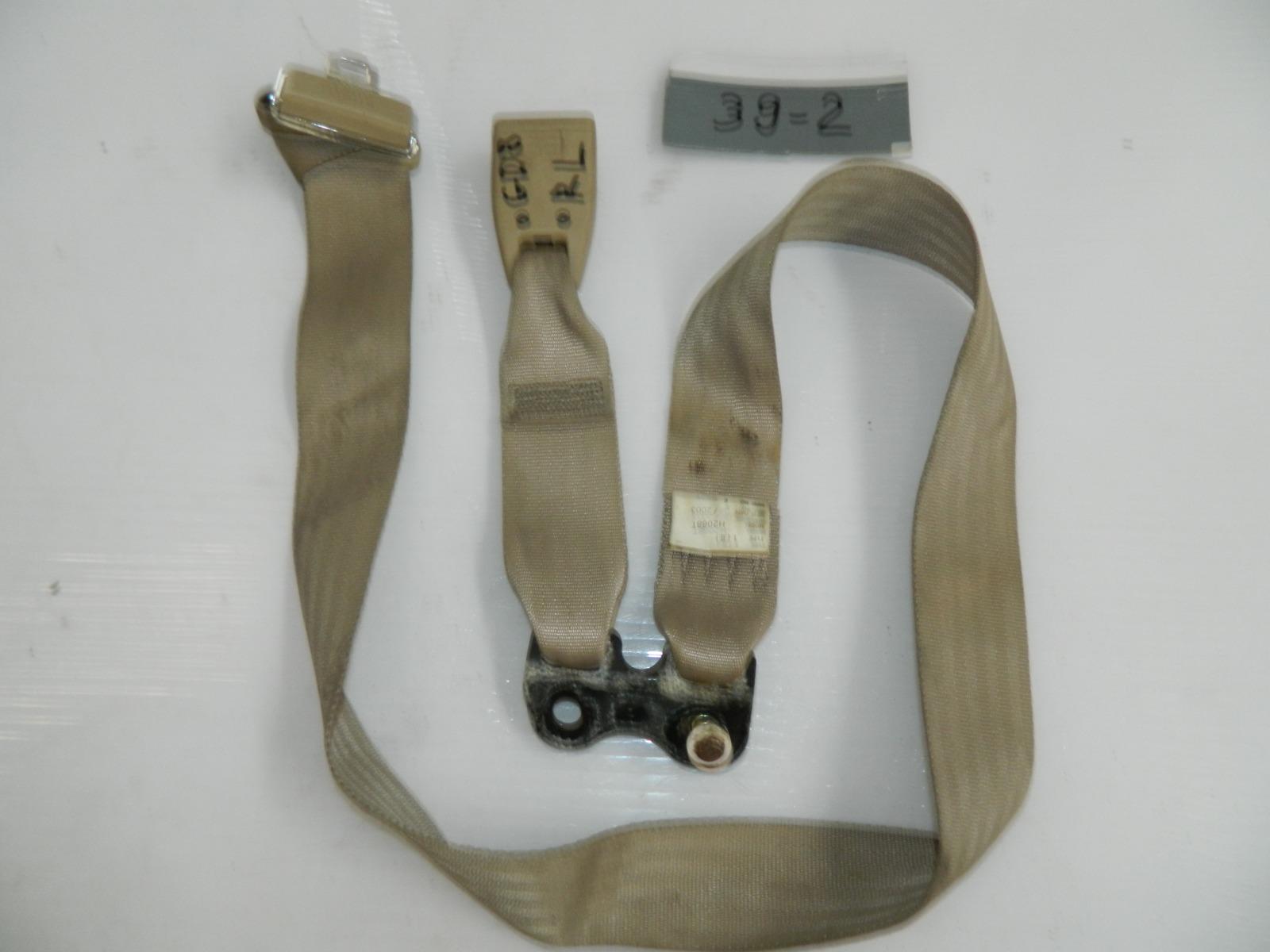 Ремень безопасности Honda Fit Aria GD8 задний левый (б/у)