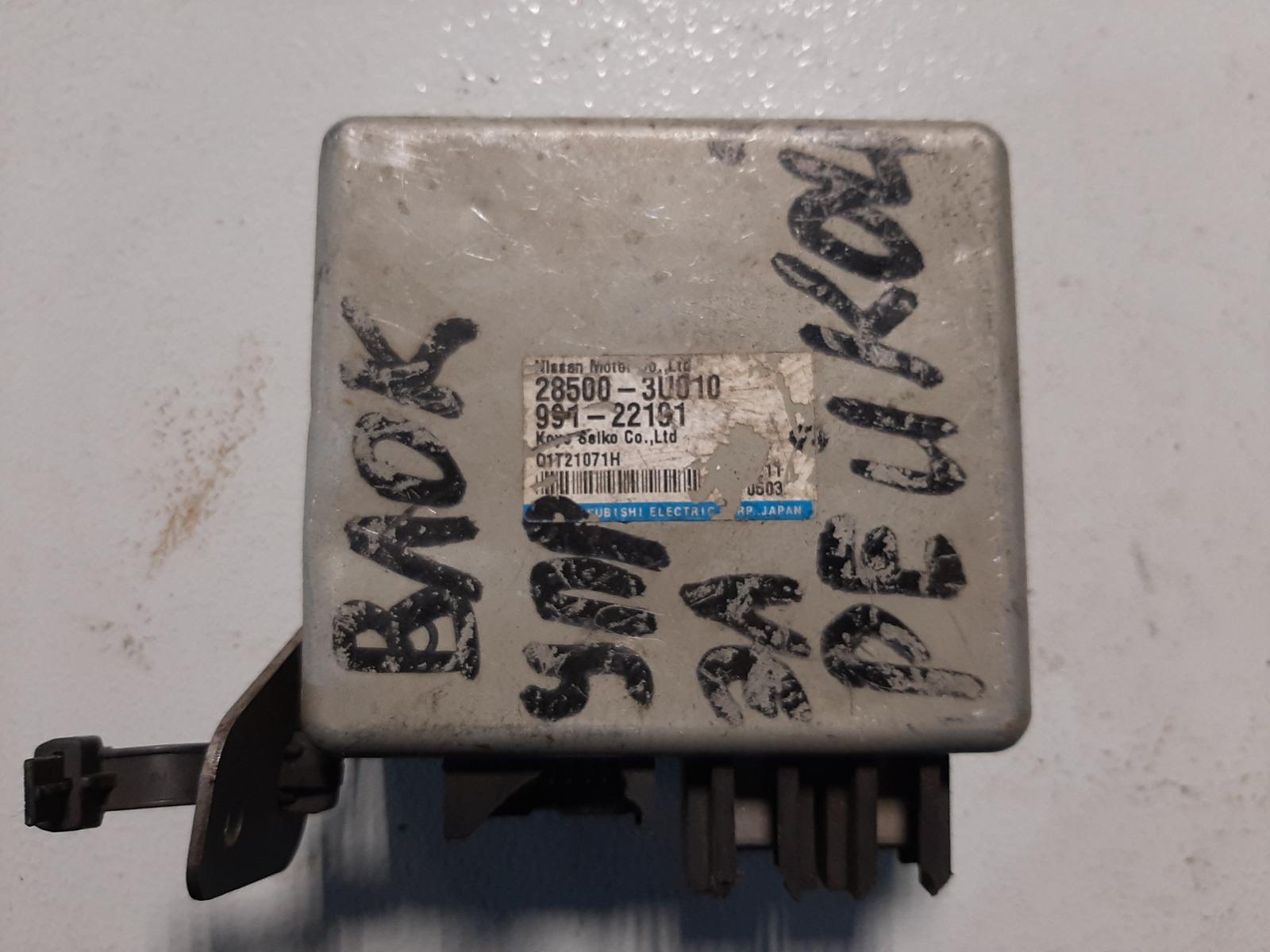 Блок управления рулевой рейкой Nissan Cube BNZ11 CR14DE (б/у)