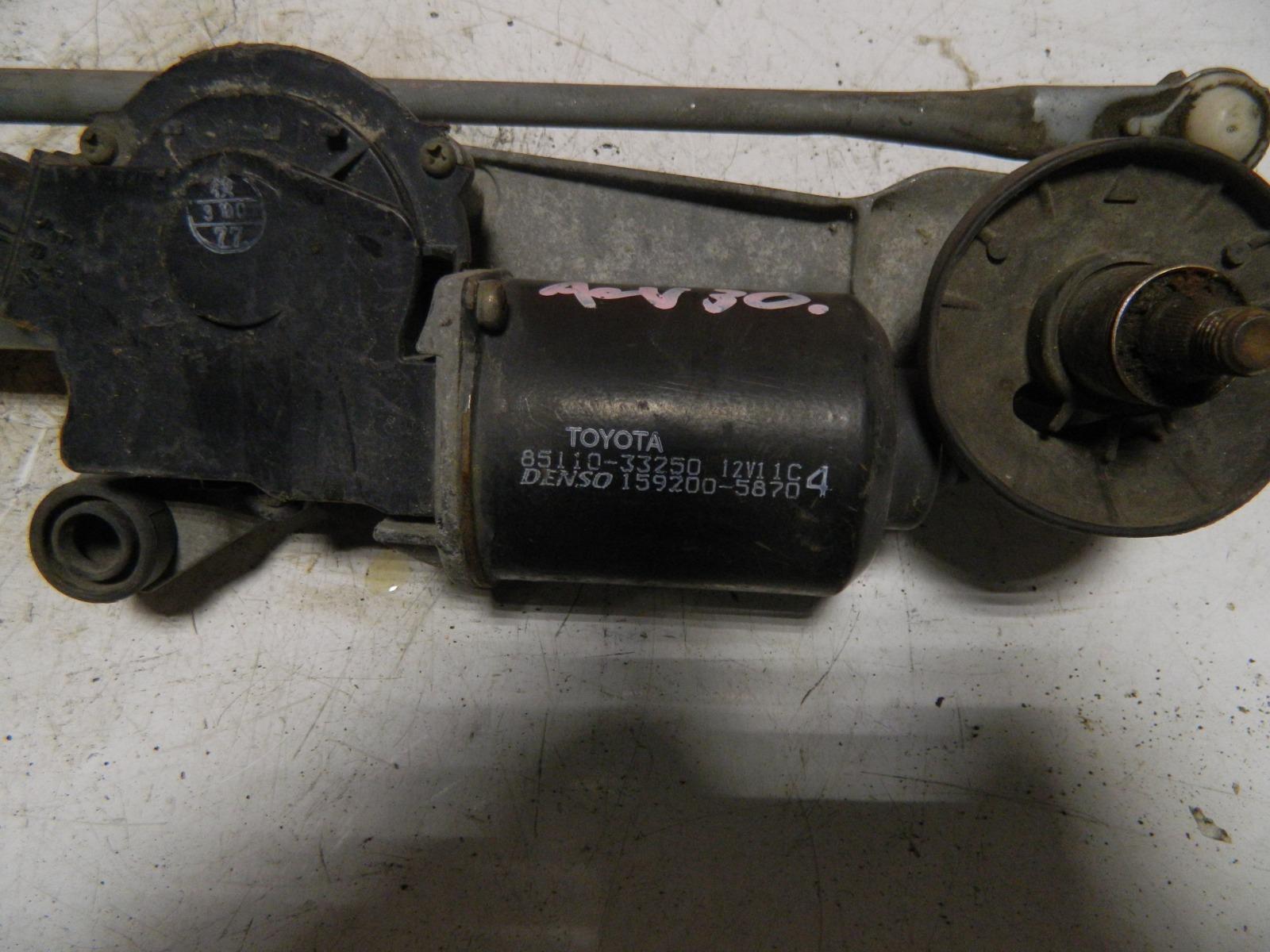 Механизм стеклоочистителя Toyota Camry ACV30 (б/у)
