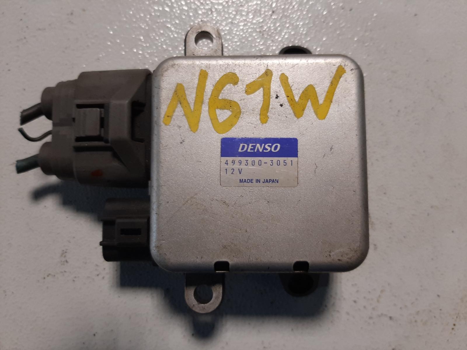 Блок управления вентилятором Mitsubishi Rvr N61W 4G64 (б/у)