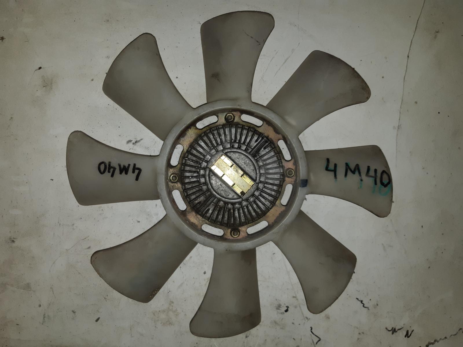 Вискомуфта с вентилятором Mitsubishi 4M40 (б/у)